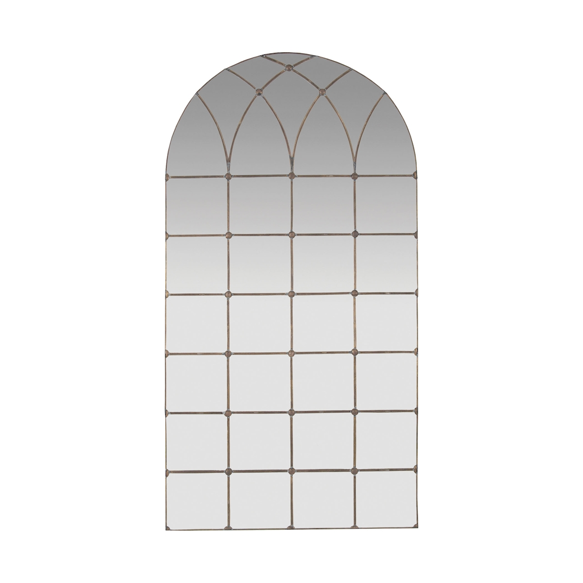 Gilded Arch Floor Mirror | Elk Home