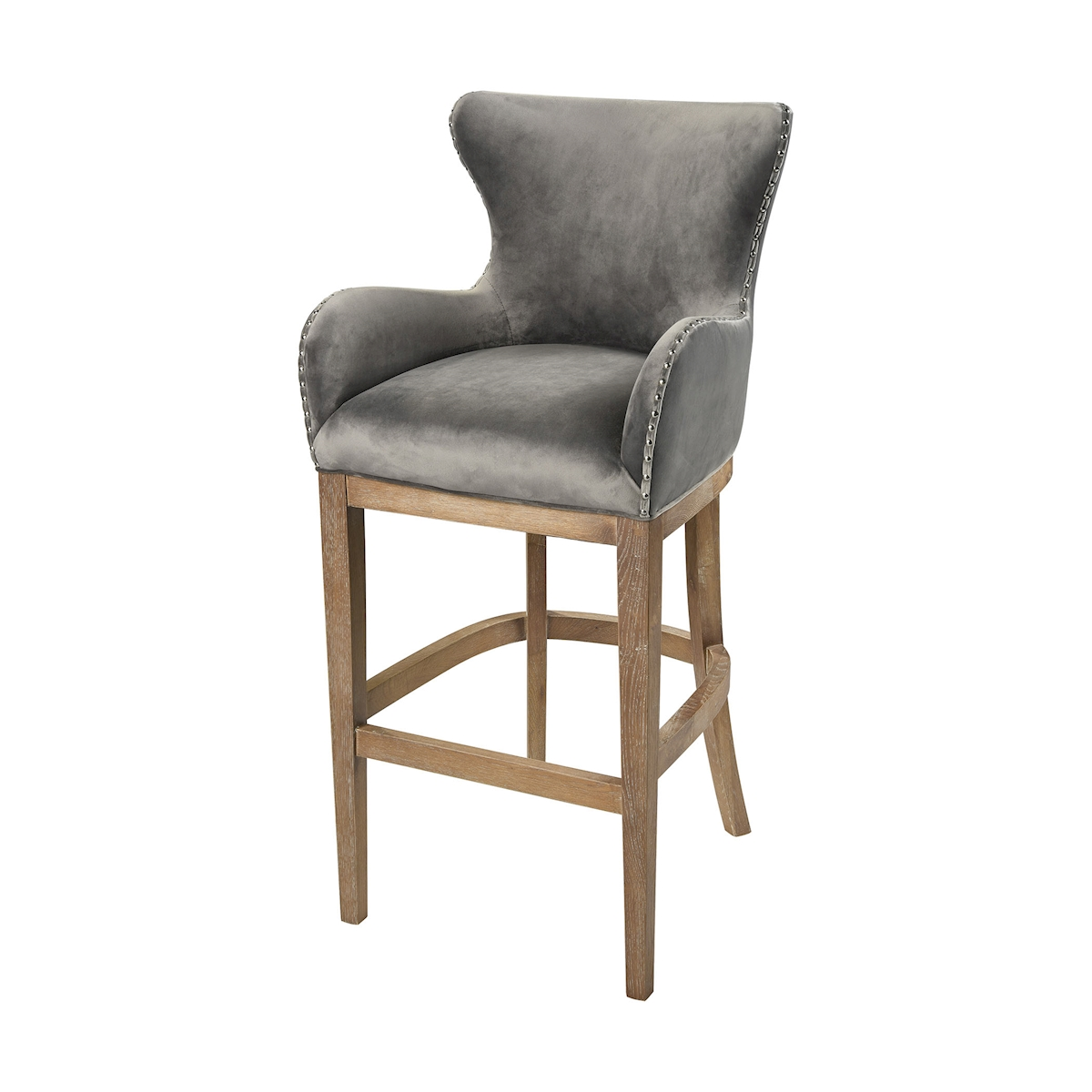 Roxie Grey Bar Chair | Elk Home