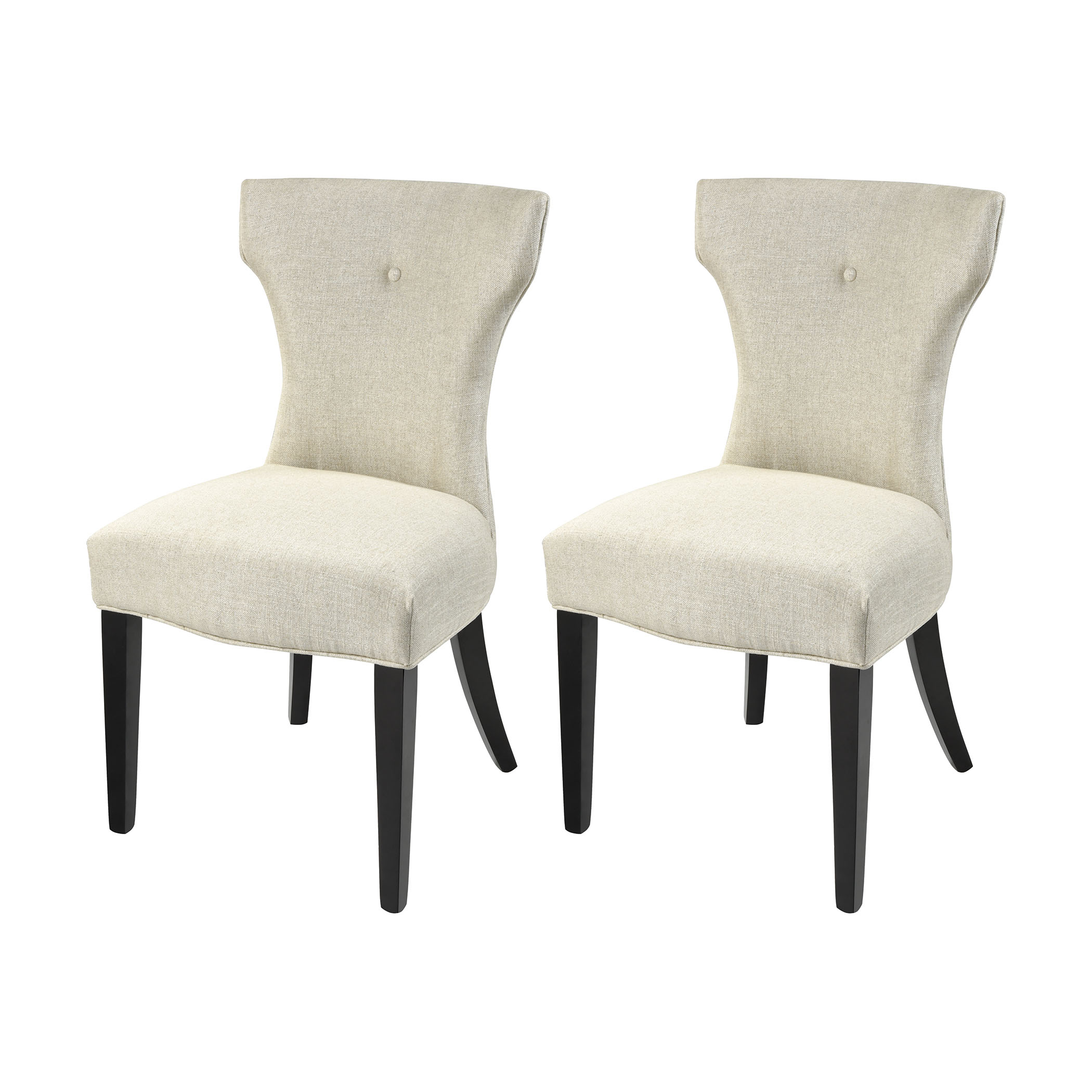 Abigail Dining Chairs in White Set of 2 Steinworld | Elk Home