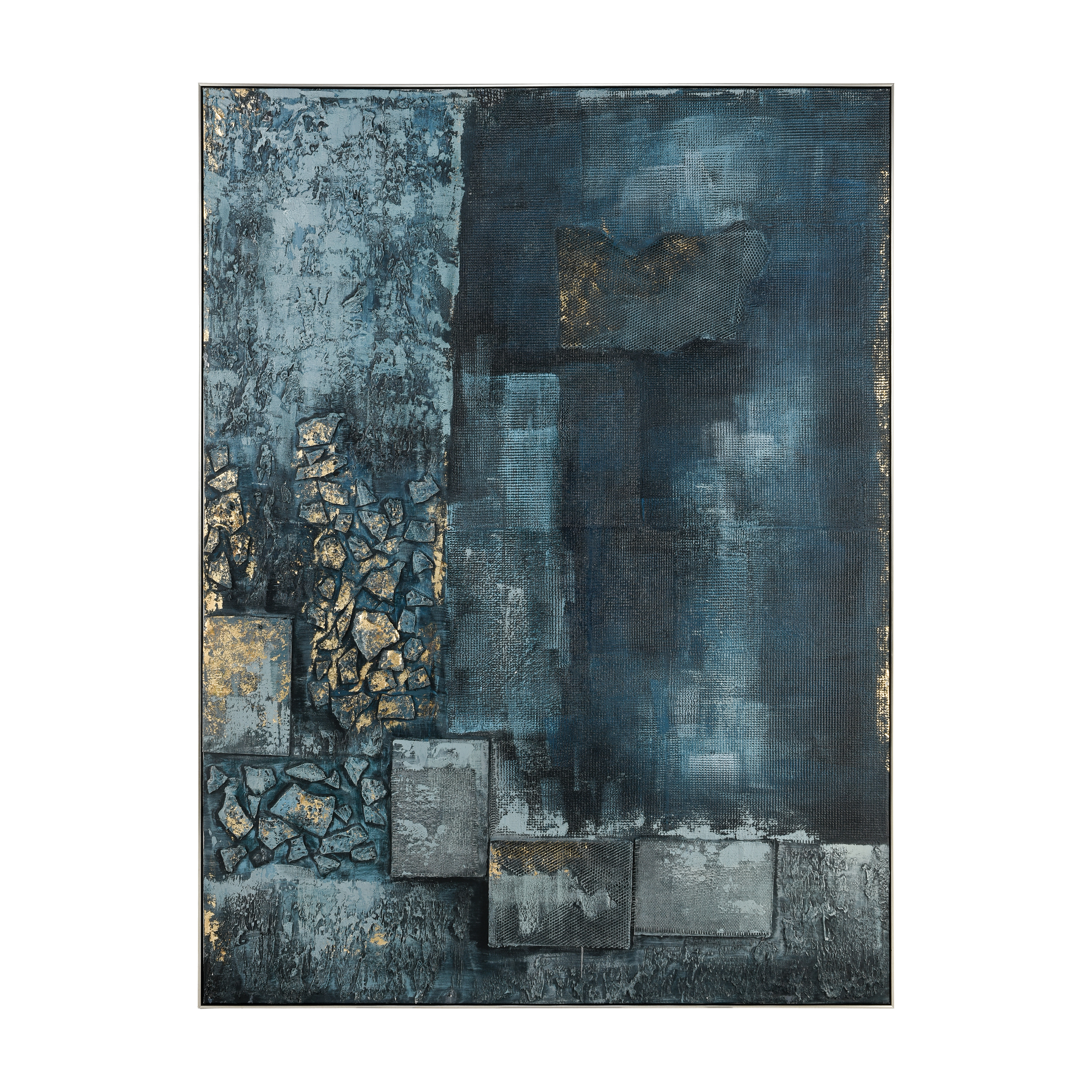 Sink Hole Wall Decor in Teal and Blue | Elk Home