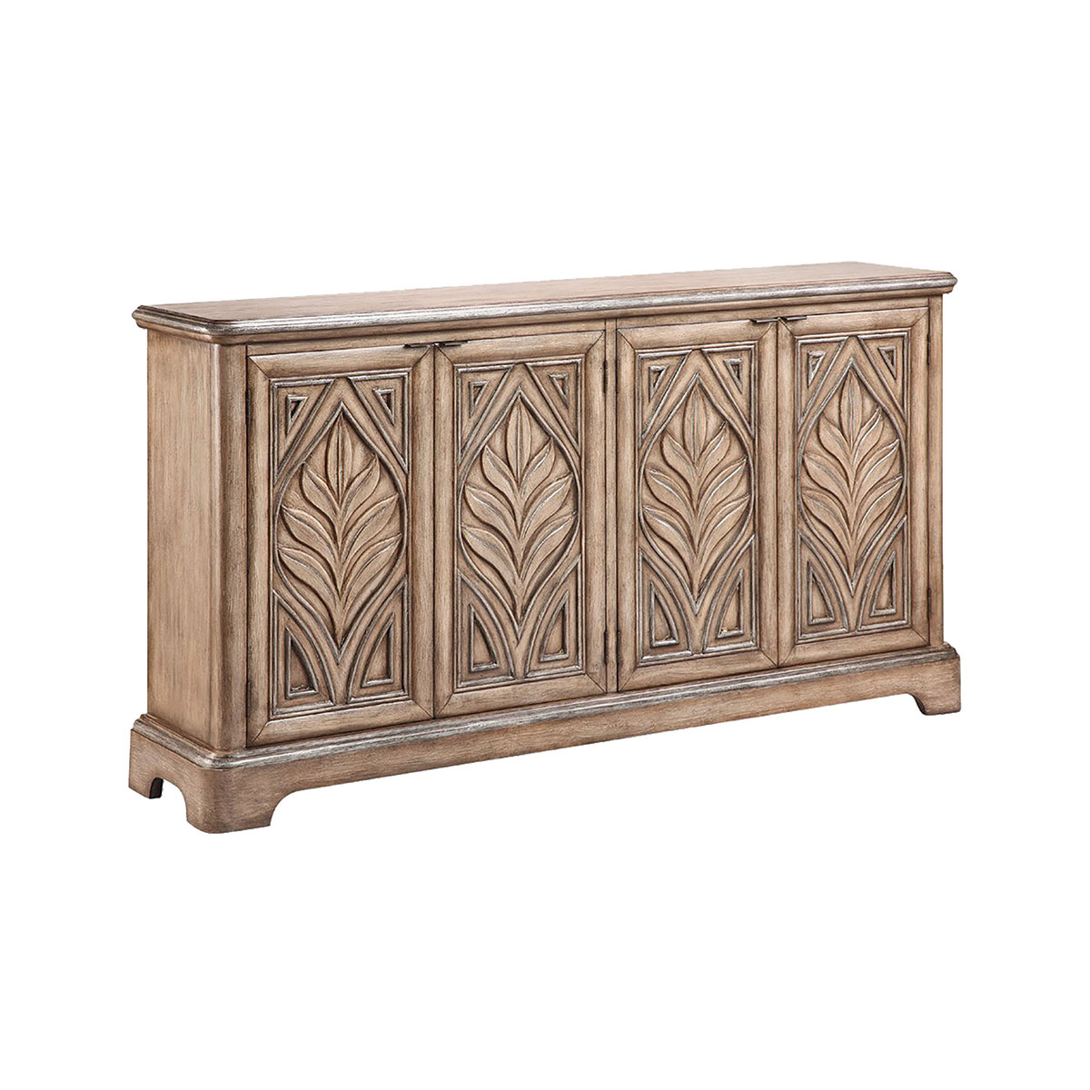 Stein World Reynolda Console Rubbed Antique Wheat