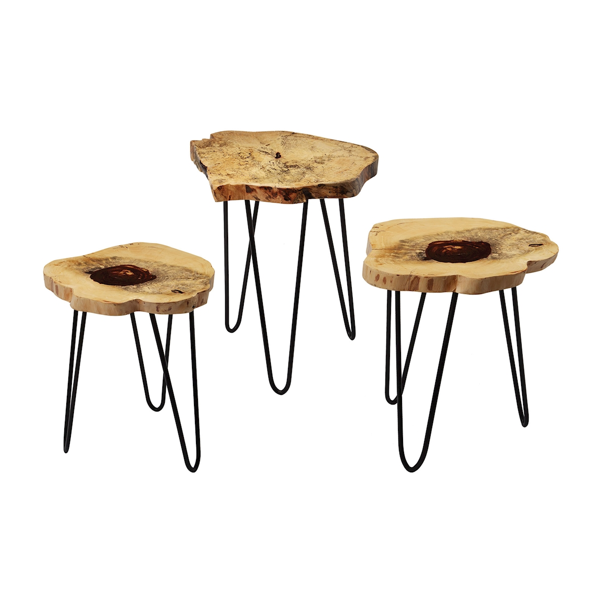 Teak Nesting Tables Set of 3 | Elk Home