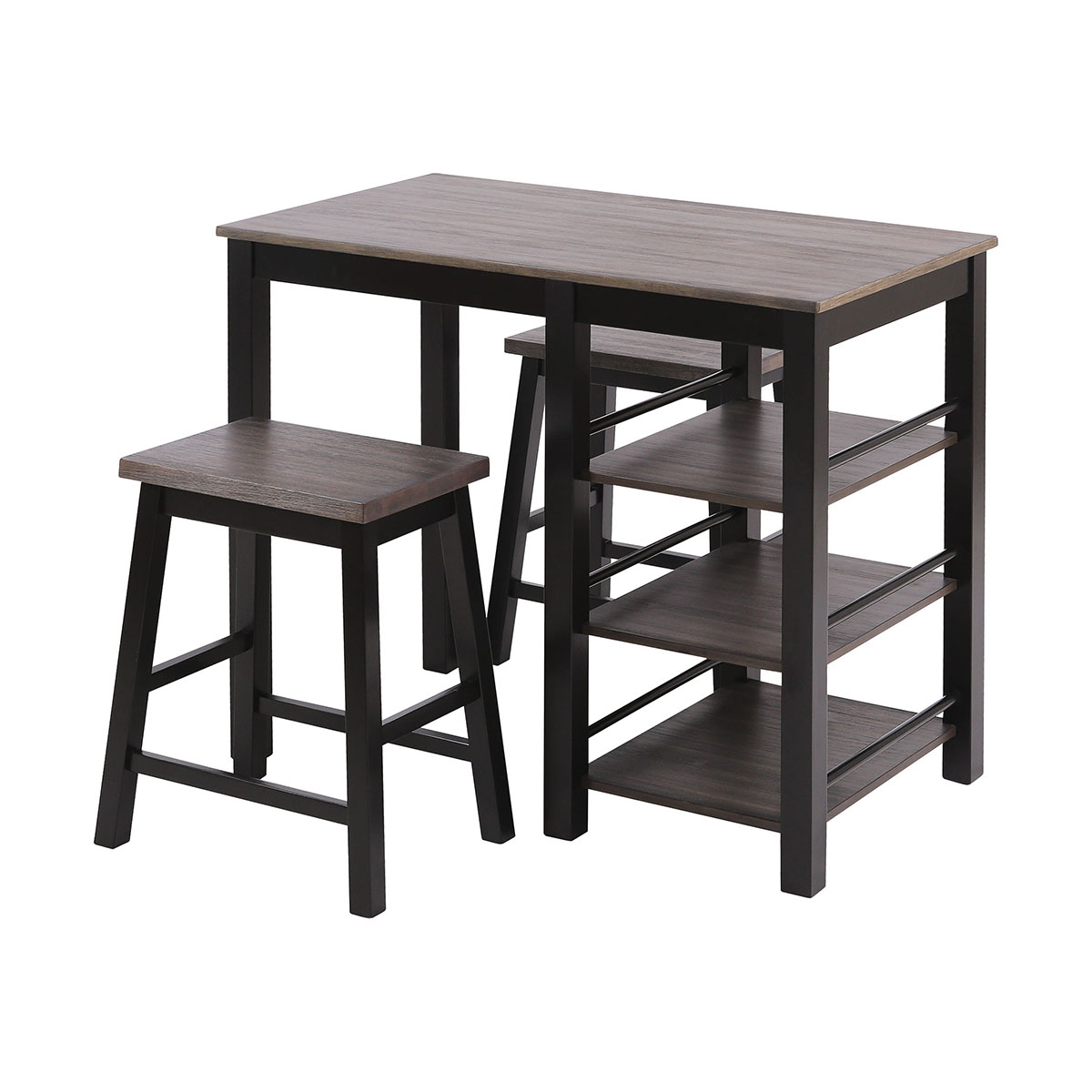 McConnell Dining Set (Includes Table and 2 Stools) | Stein World