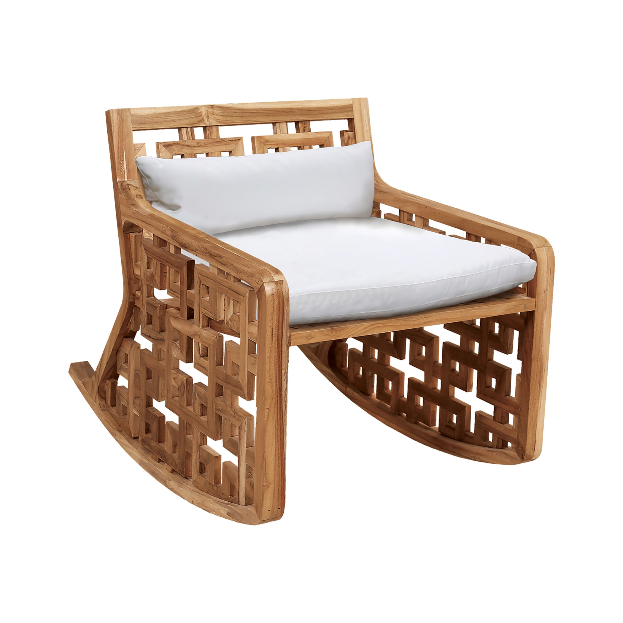 Matt's Outdoor Rocking Chair Cushions | Elk Home