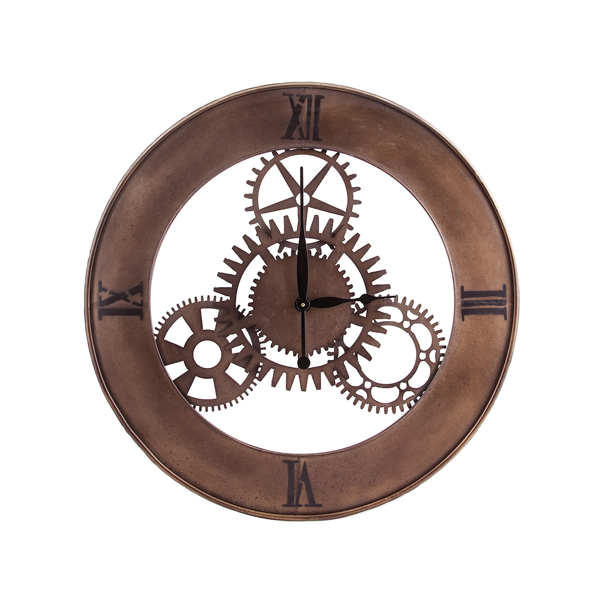 Industrial Cog Wall Clock | Elk Home