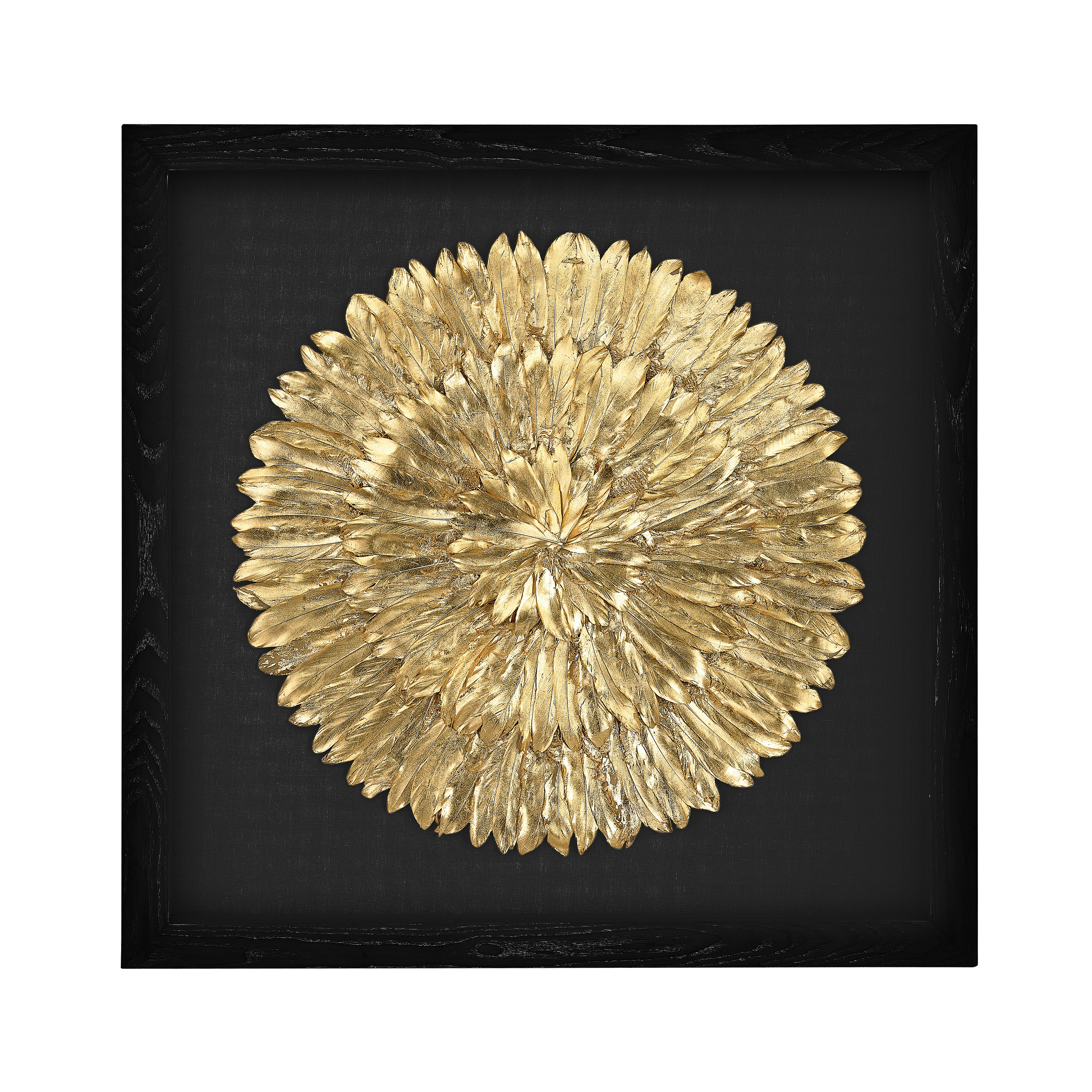 Gold Feather Spiral | Elk Home