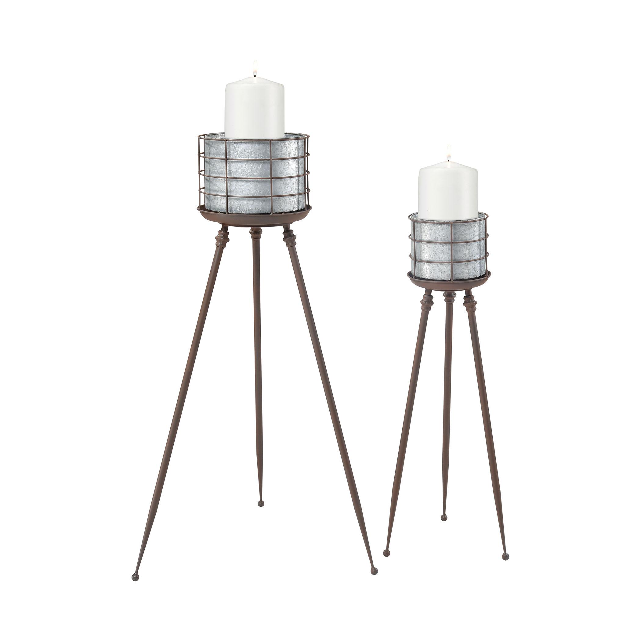 Mississippi Sound Candle Holders | Elk Home