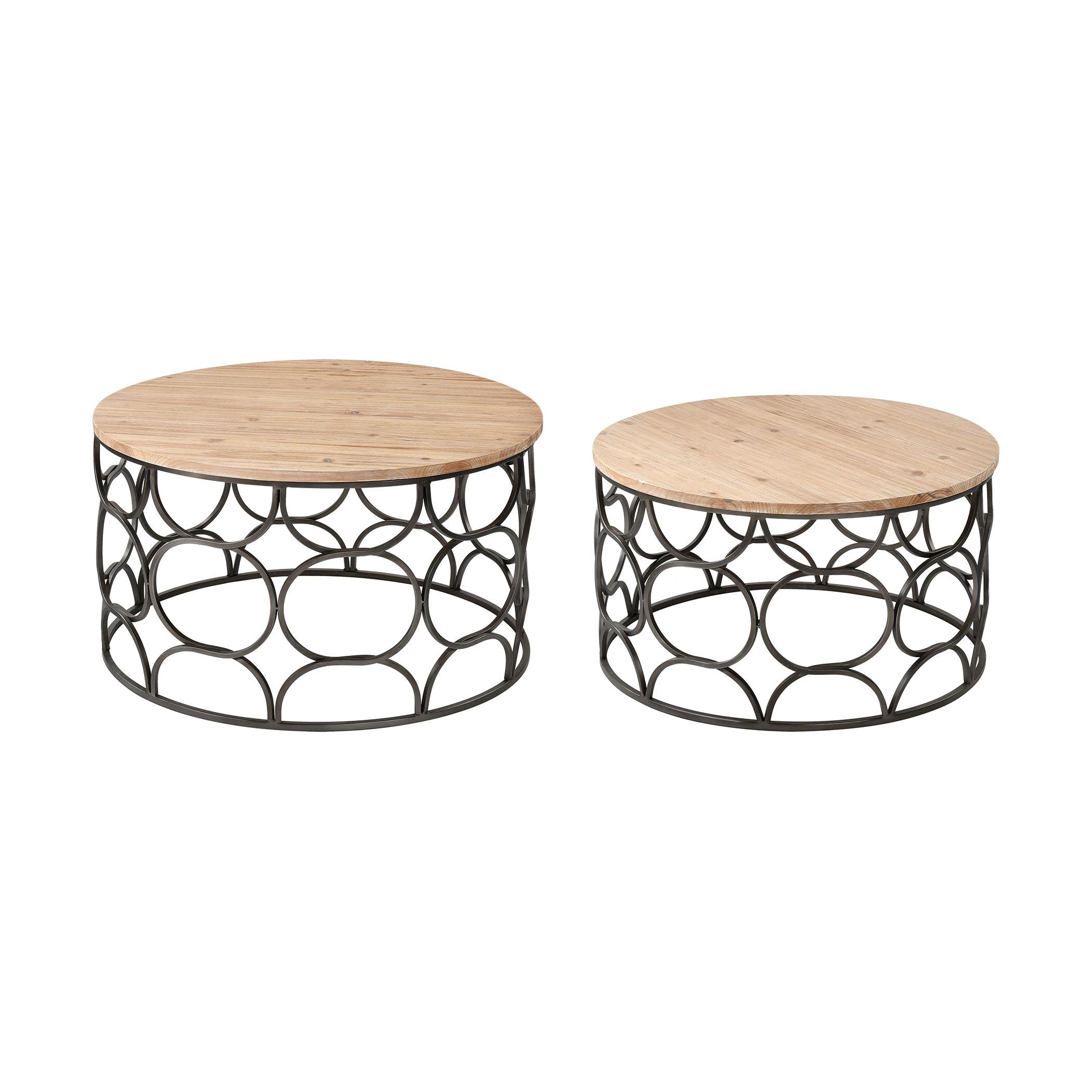 Billings Coffee Tables Set of 2 | Elk Home