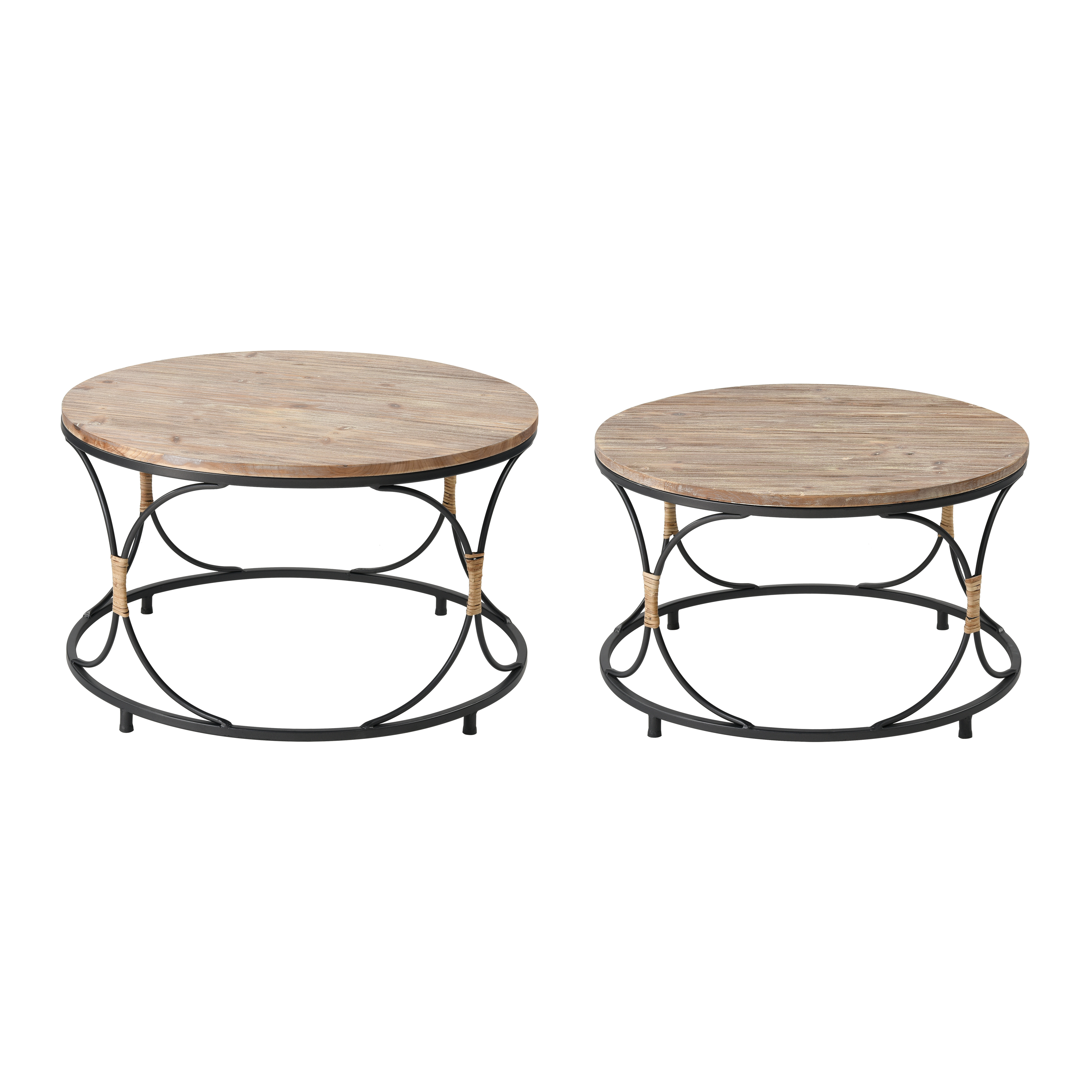 Fisher Island Coffee Tables Set of 2 | Elk Home
