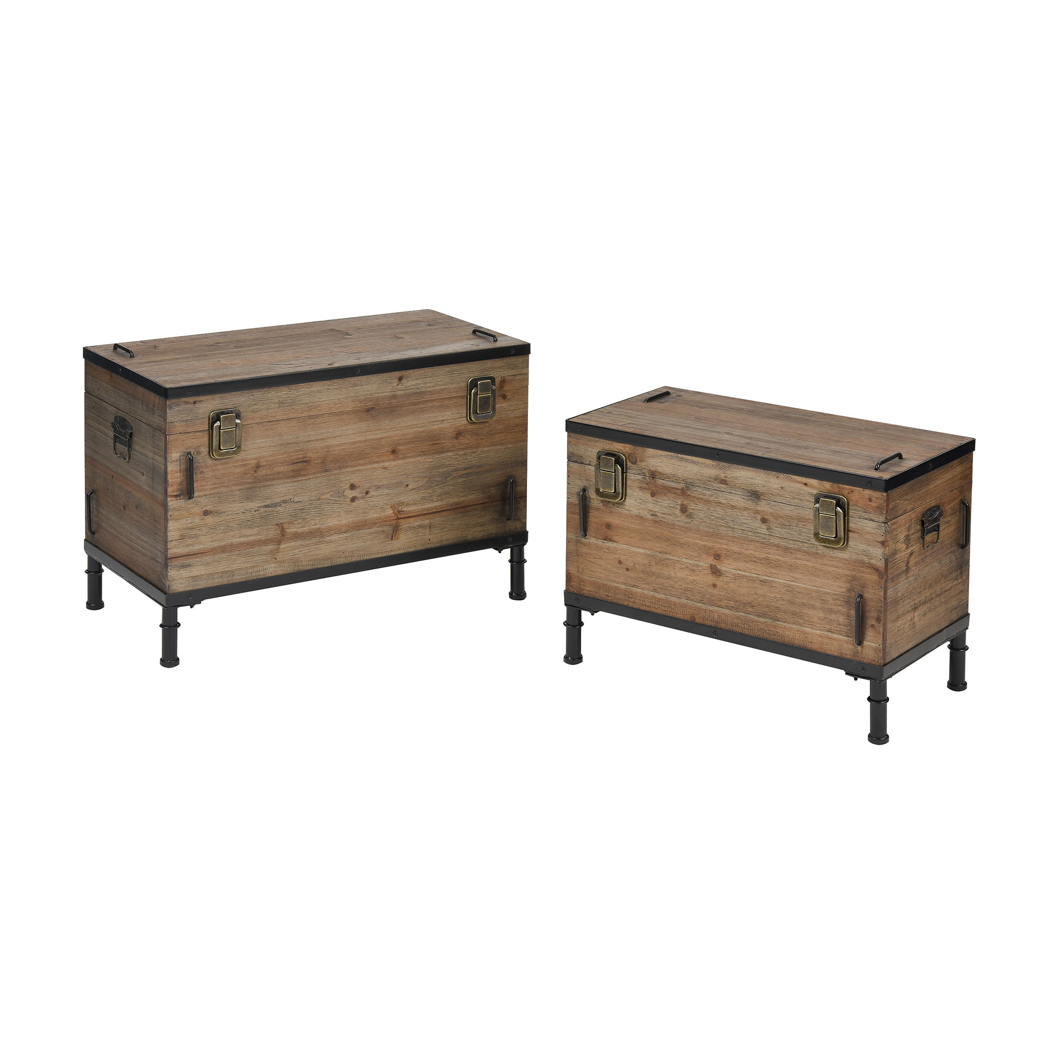 Polo Storage Chests Set of 2 | Elk Home