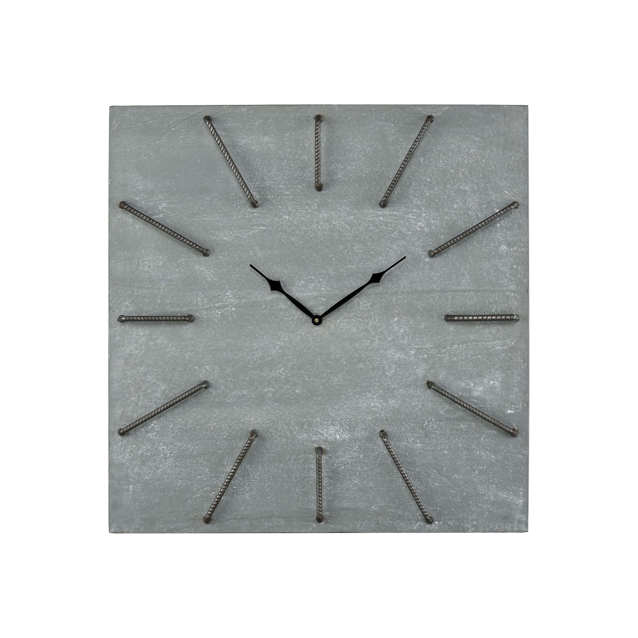 New Brutalism Wall Clock | Elk Home
