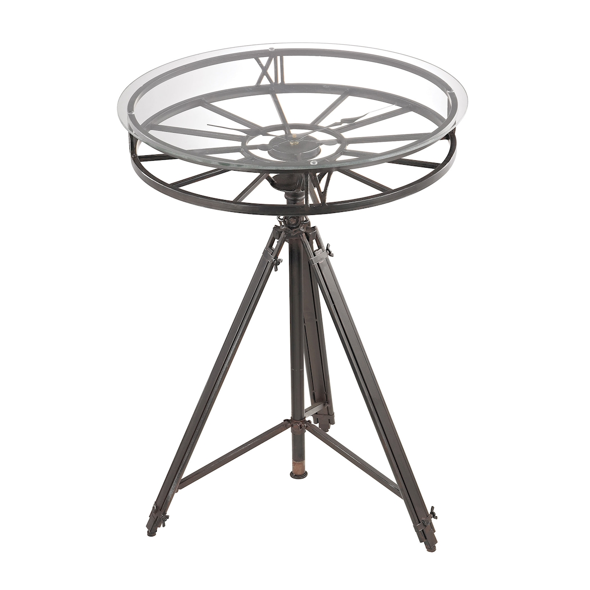 Tripod Clock Table | Elk Home