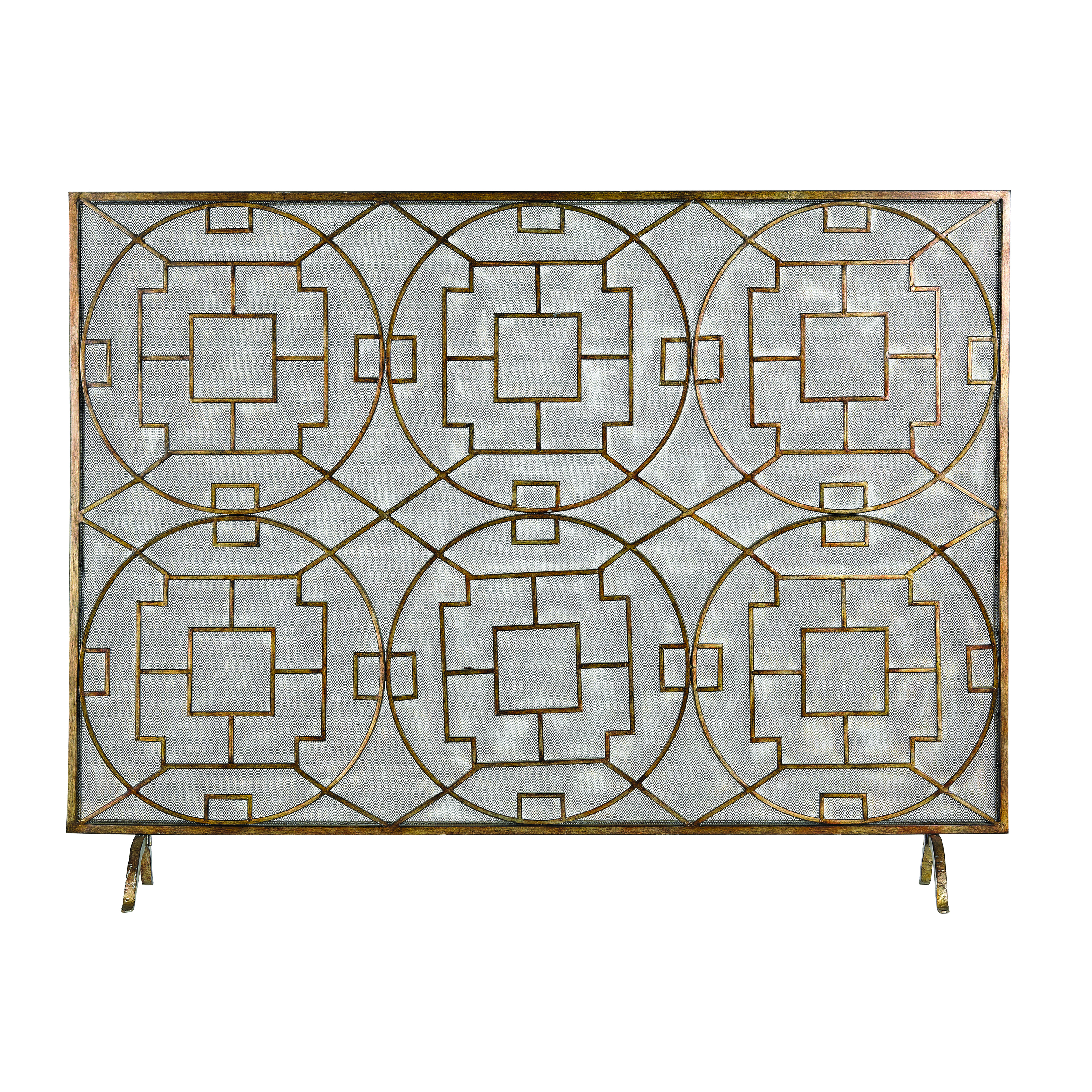 Geometric Firescreen | Elk Home