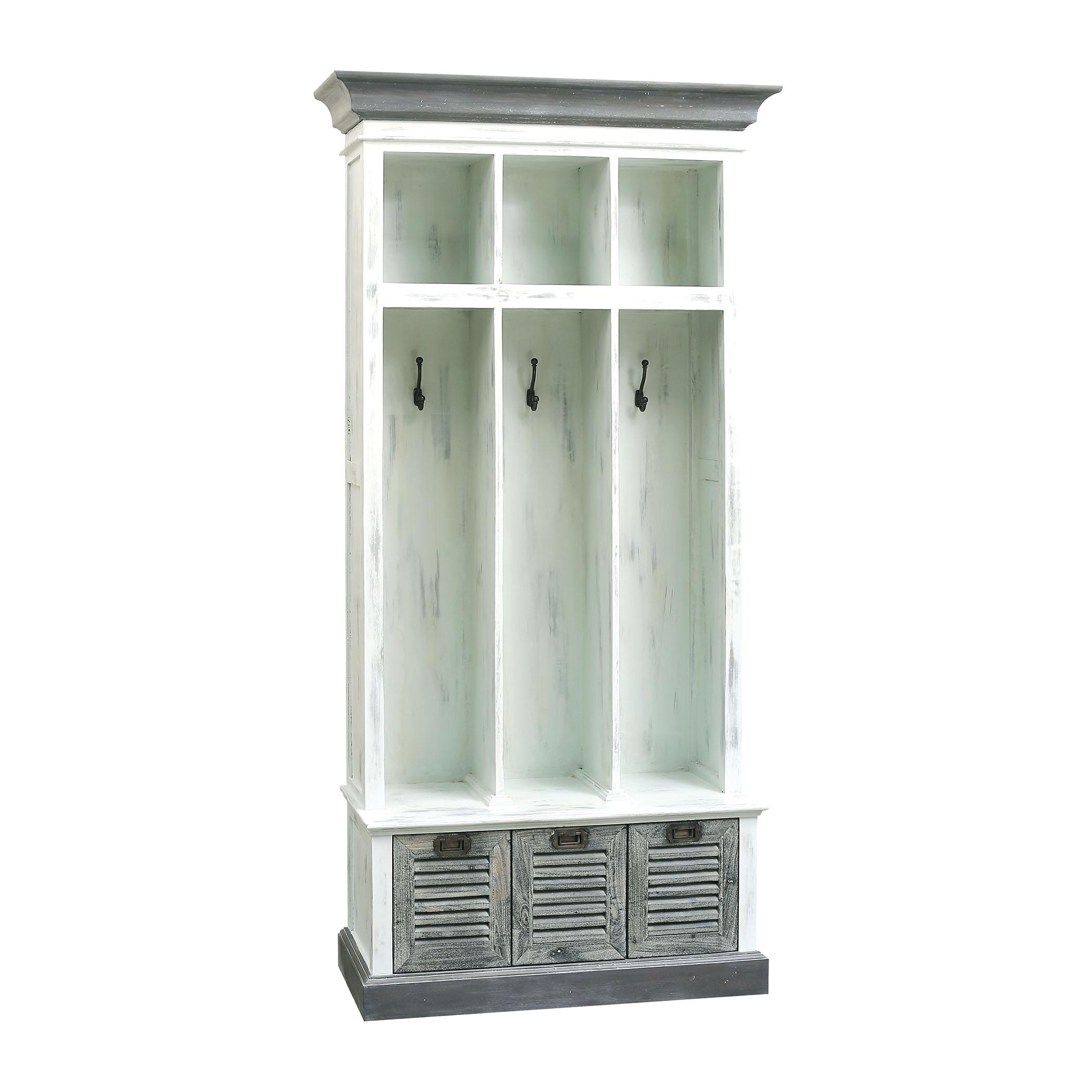 Coastal 3-Drawer Entry Storage Unit | Elk Home