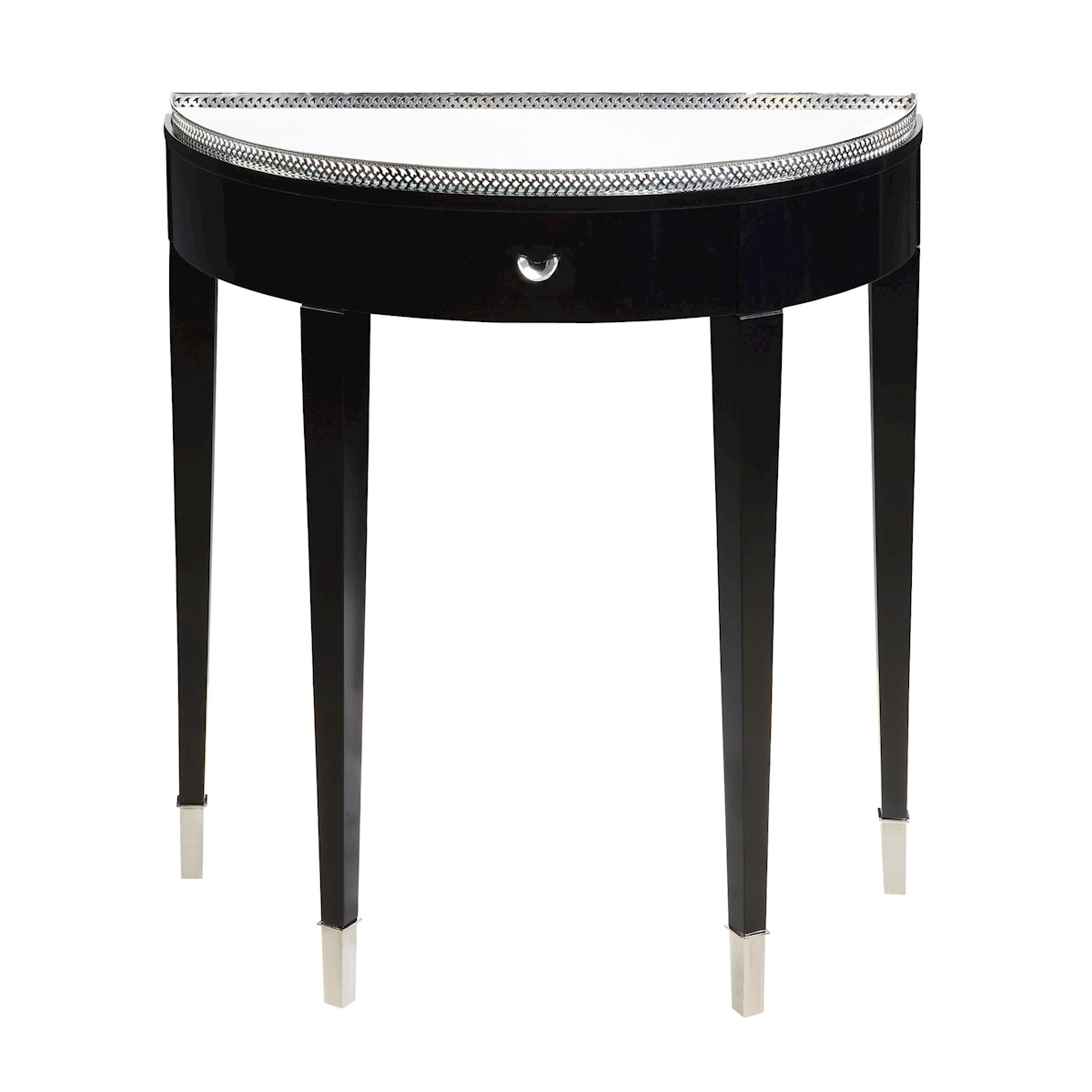 Black Tie Demilune Hall Table | Elk Home