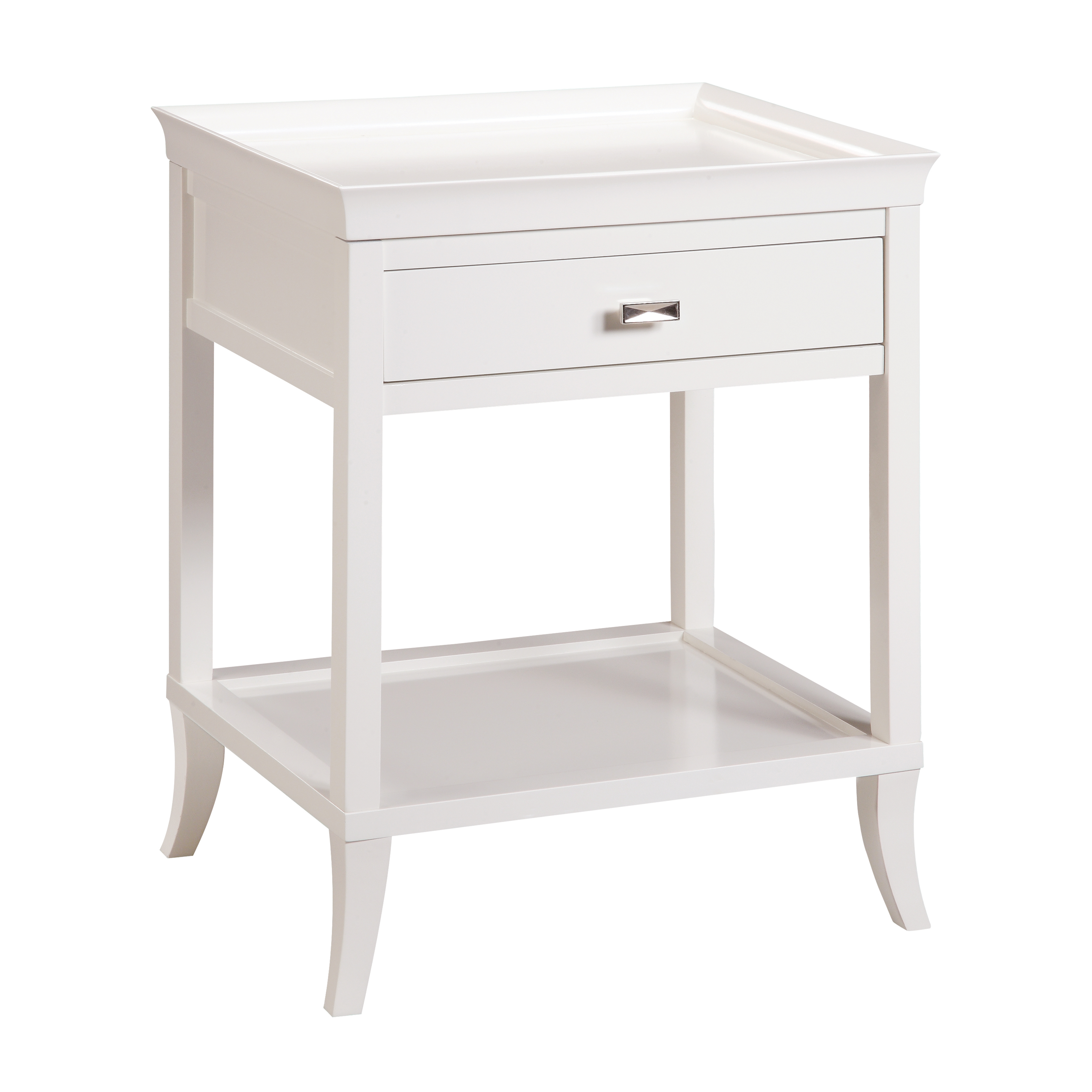 Tamara Accent Table in White | Elk Home