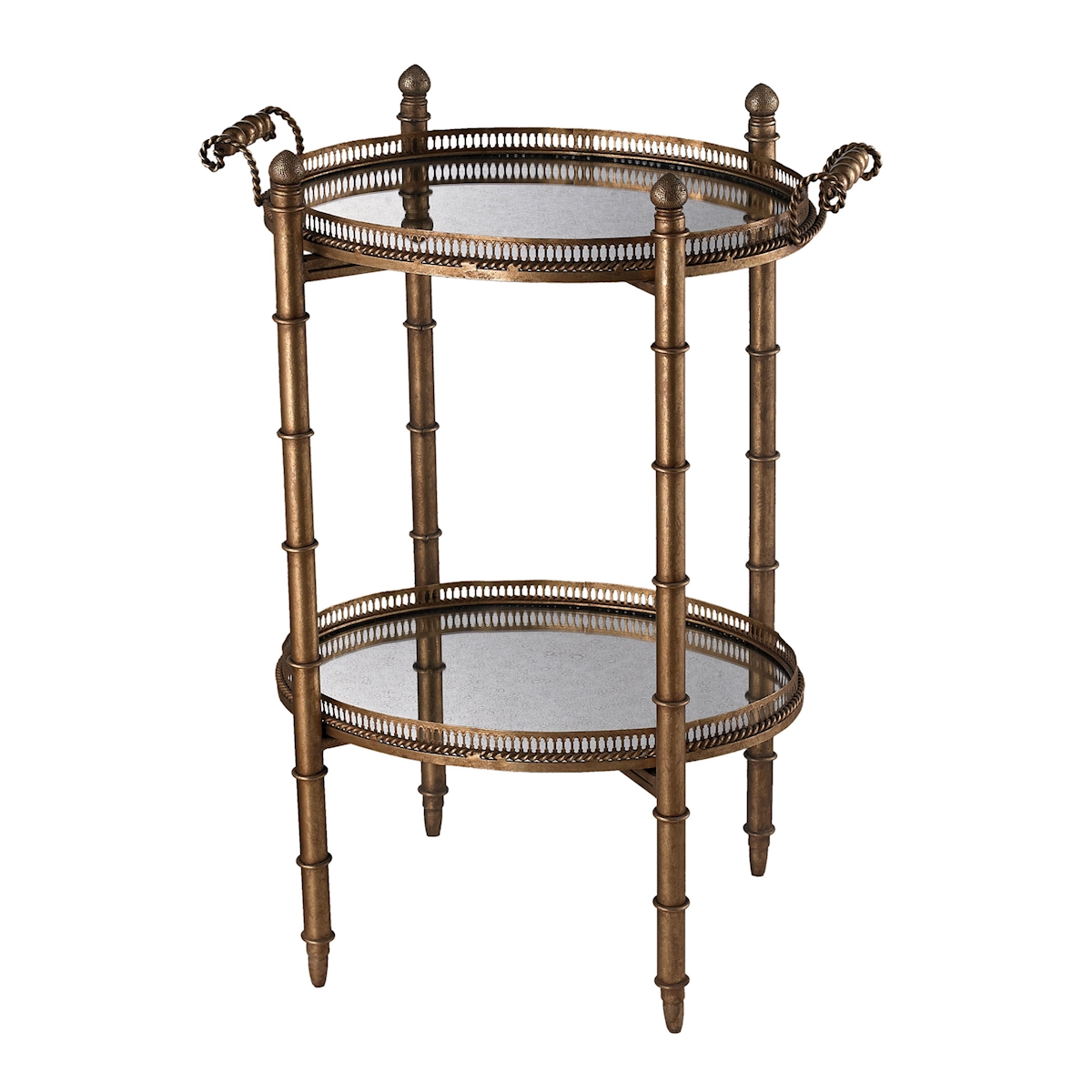 Tyrella Gold Tray Table | Elk Home