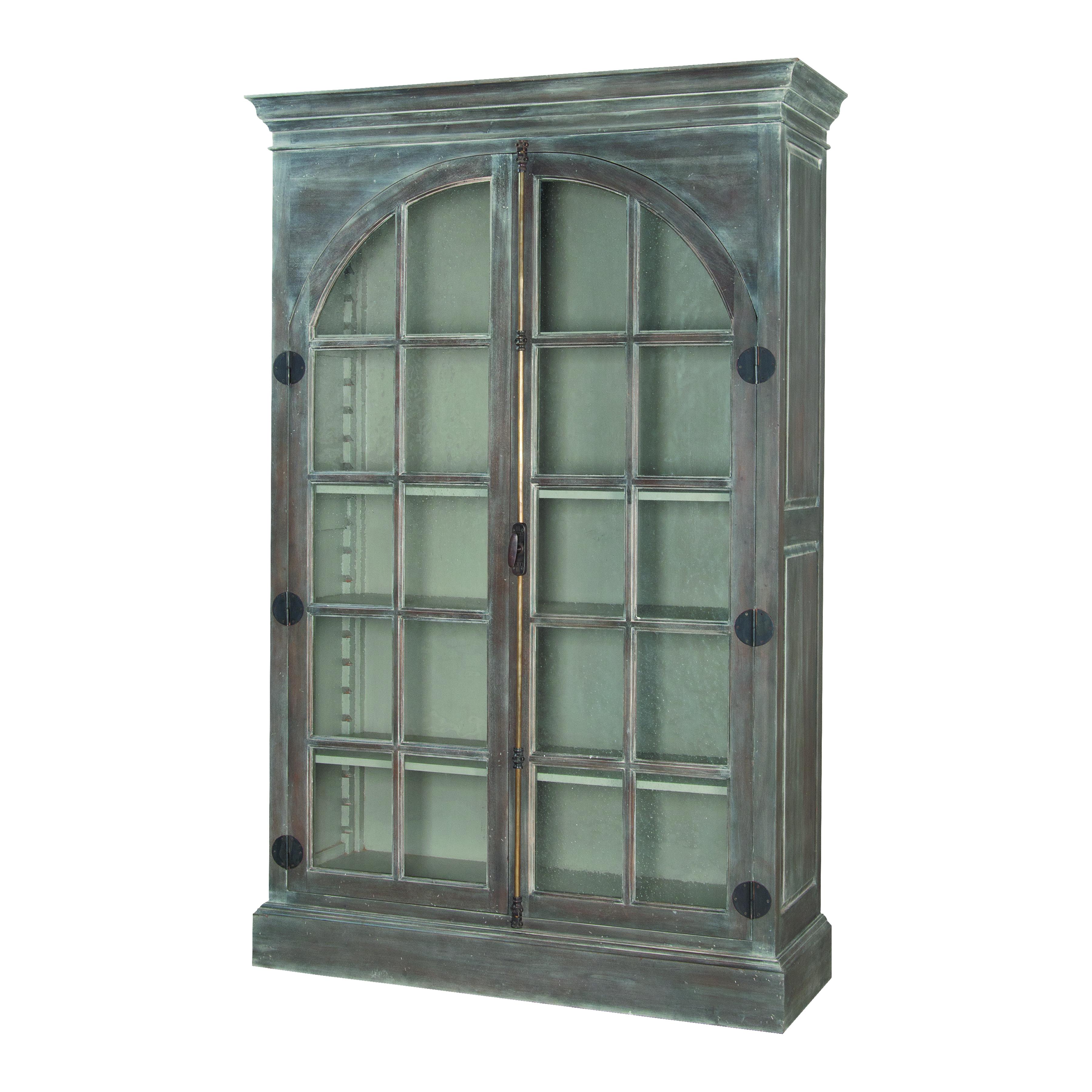 Manor Arched Door Display Cabinet | Elk Home