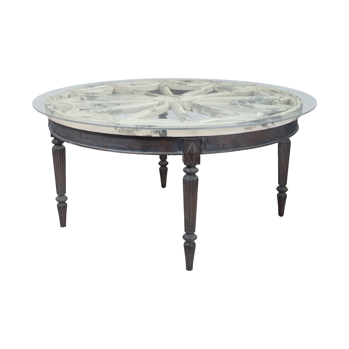 Artifacts Round Dining Table | Elk Home