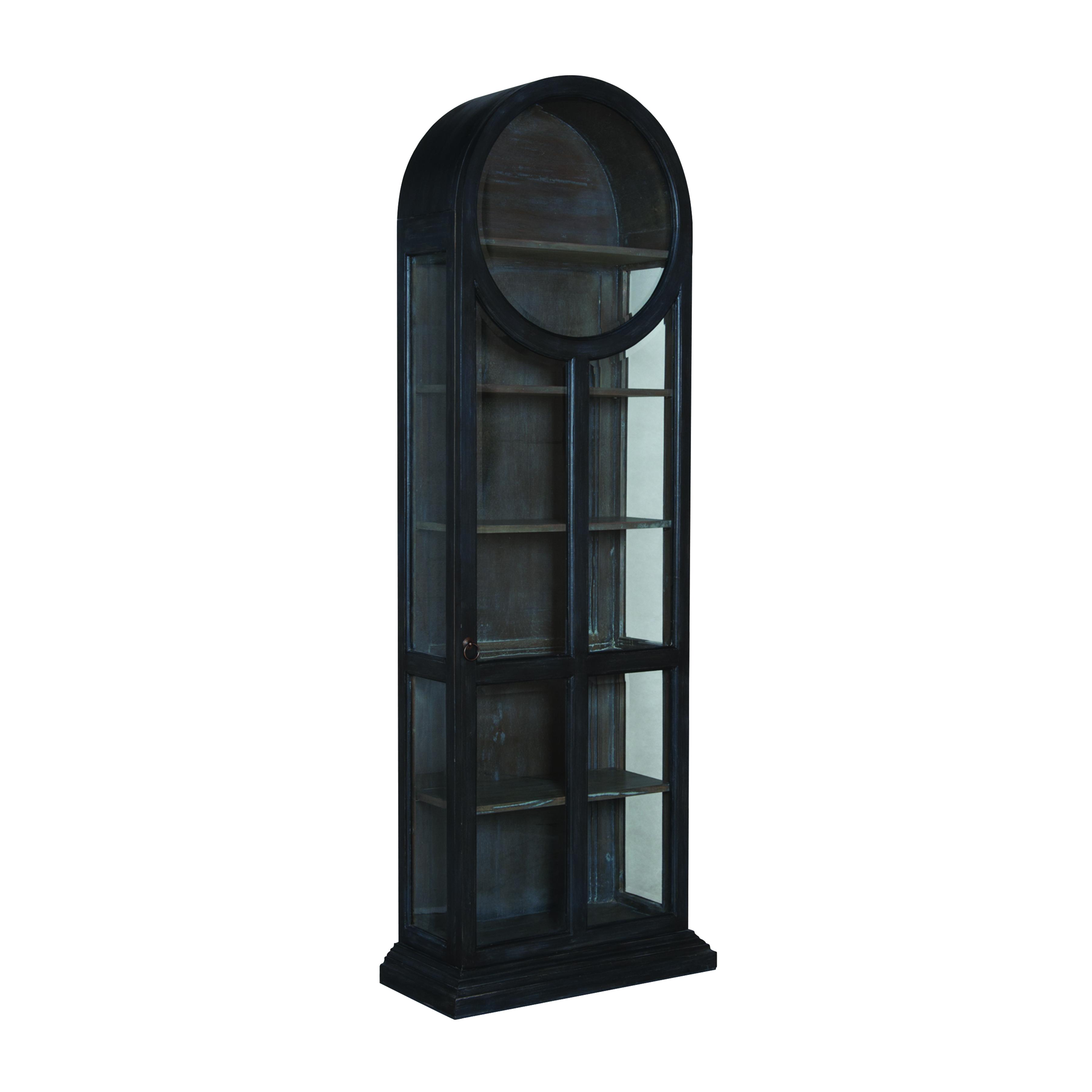 Round Top Display Cabinet | Elk Home