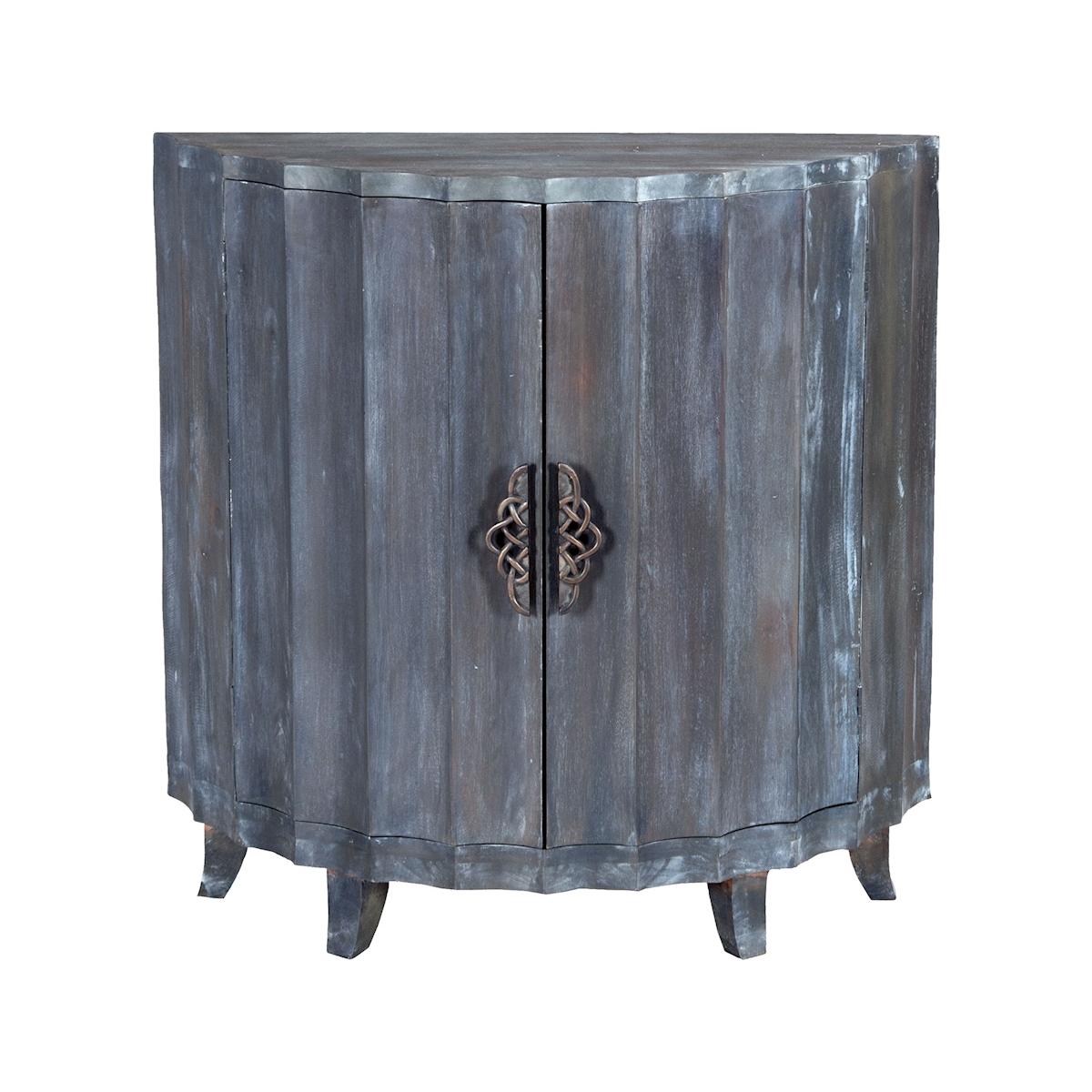 Manor 2-Door Demilune Cabinet | Elk Home