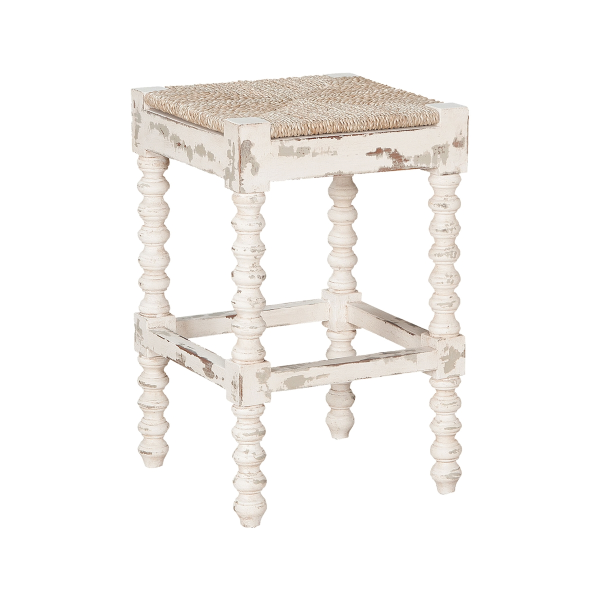 Crossroads Counter Stool Crossroads European White | Elk Home