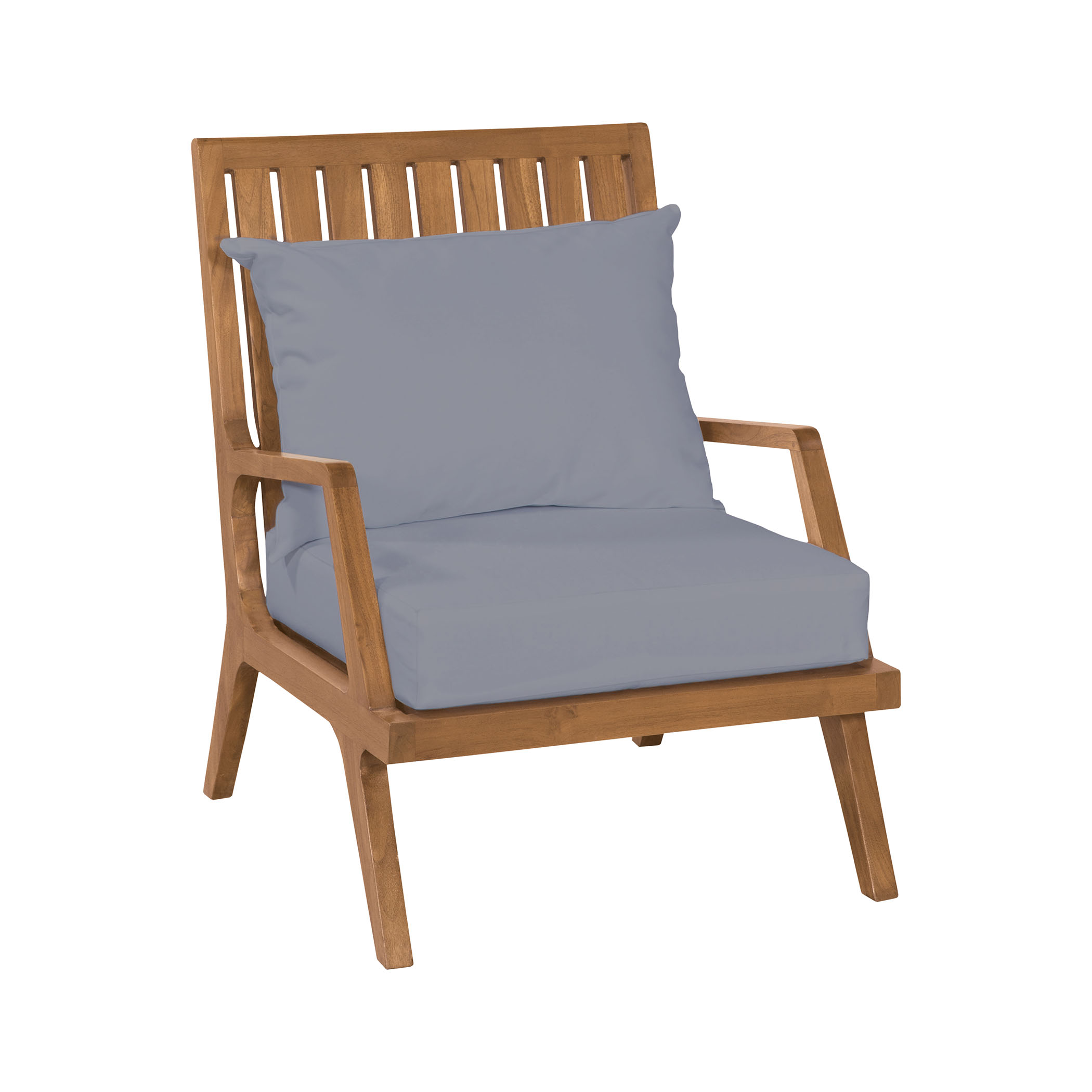 Teak Patio Lounge Chair in Euro Teak Oil | Elk Home
