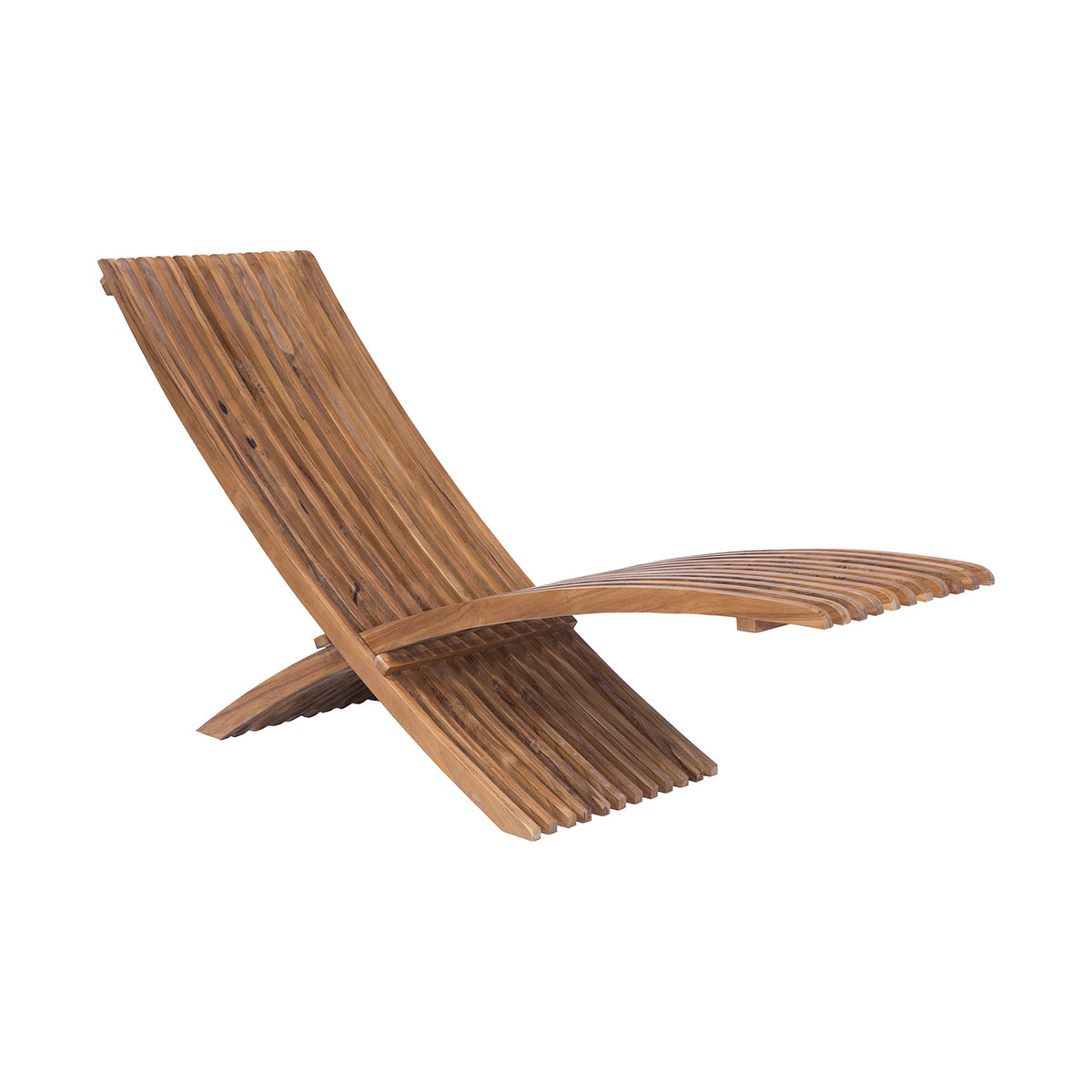 Teak Folding Lounge Chair | Elk Home