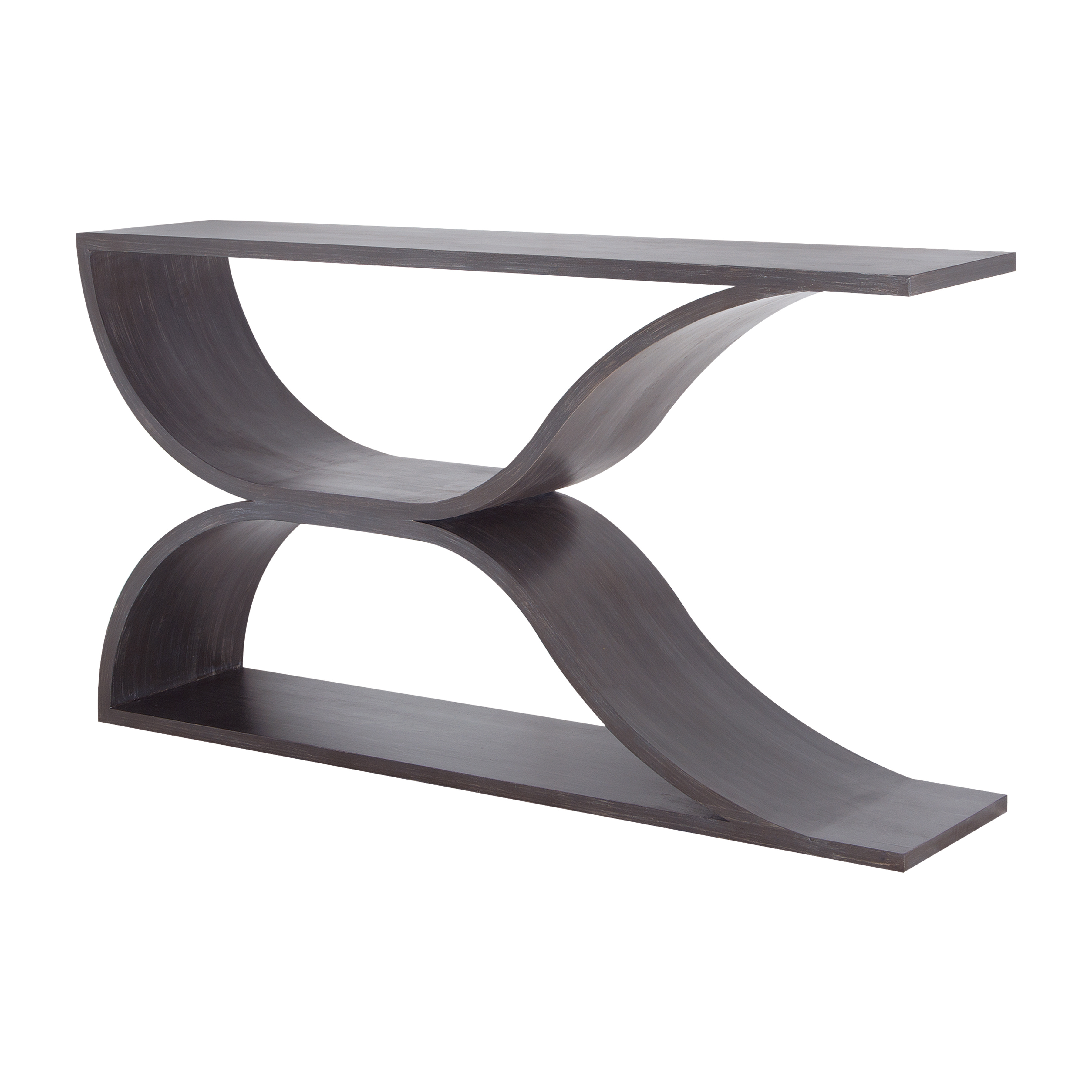Pin Hollow Wave Sofa Table | Elk Home