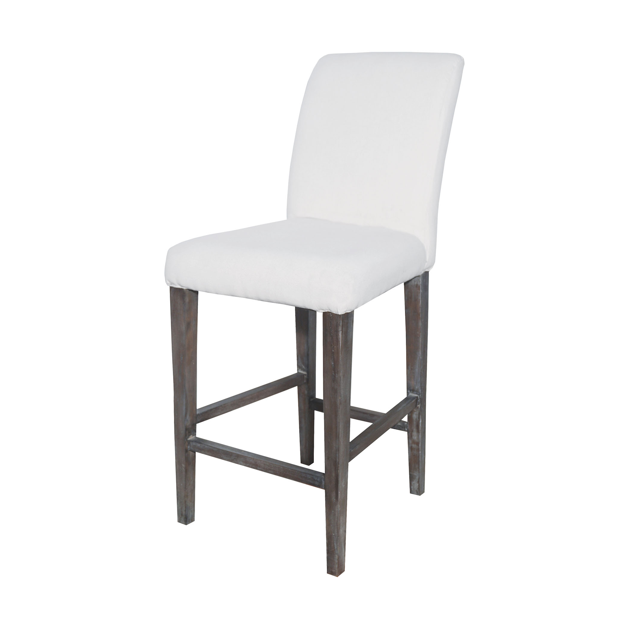 Couture Covers Parsons Bar Stool in Whitewashed Heritage Stain | Elk Home