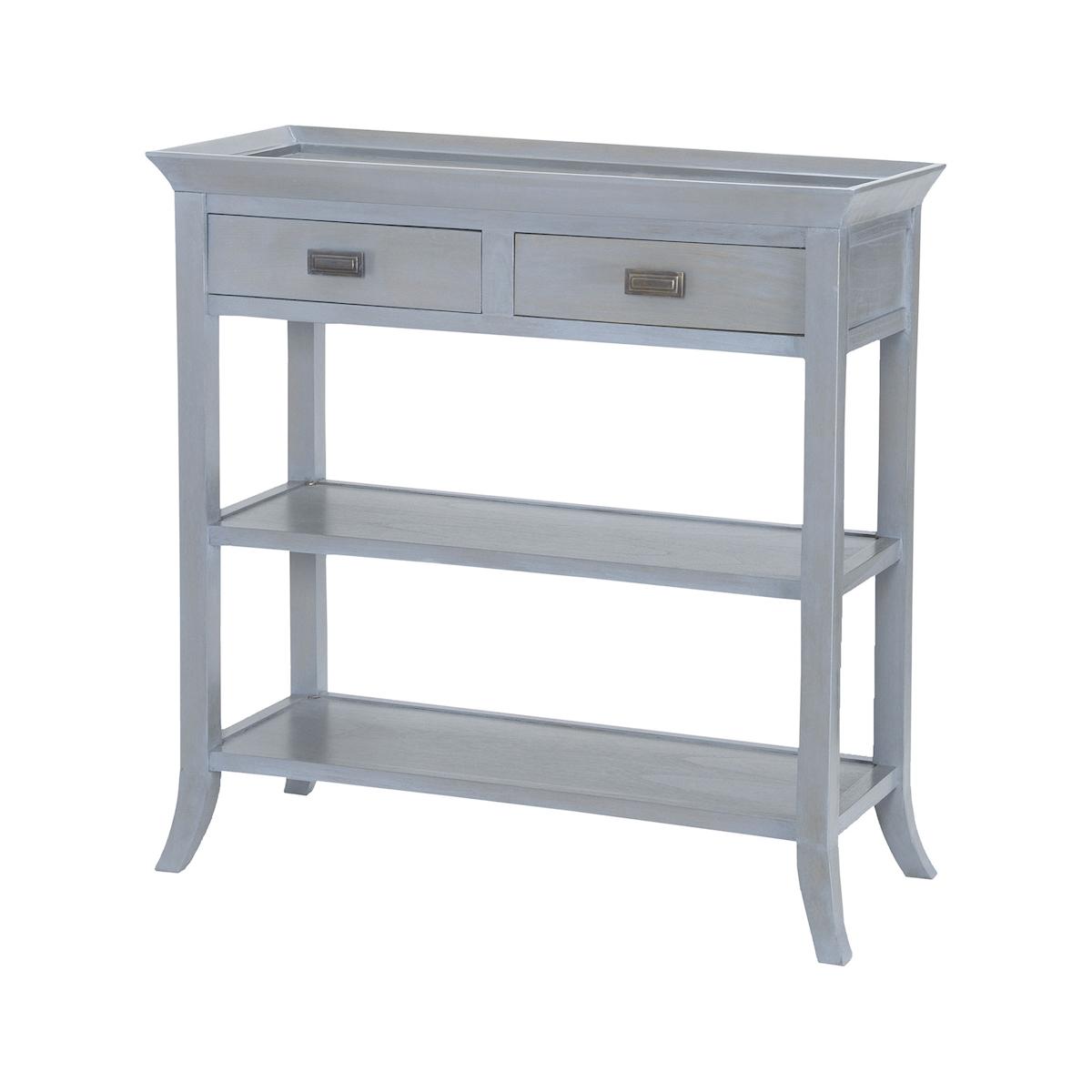 Tamara Console Table in Gravesend Grey | Elk Home
