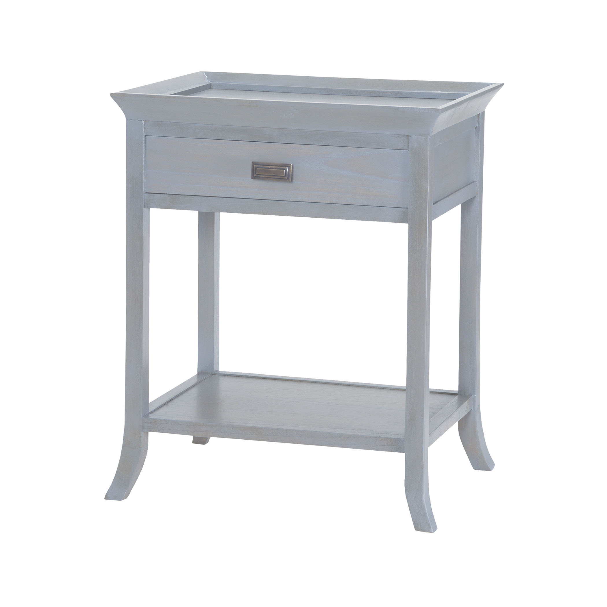 Tamara Accent Table in Gravesend Grey | Elk Home