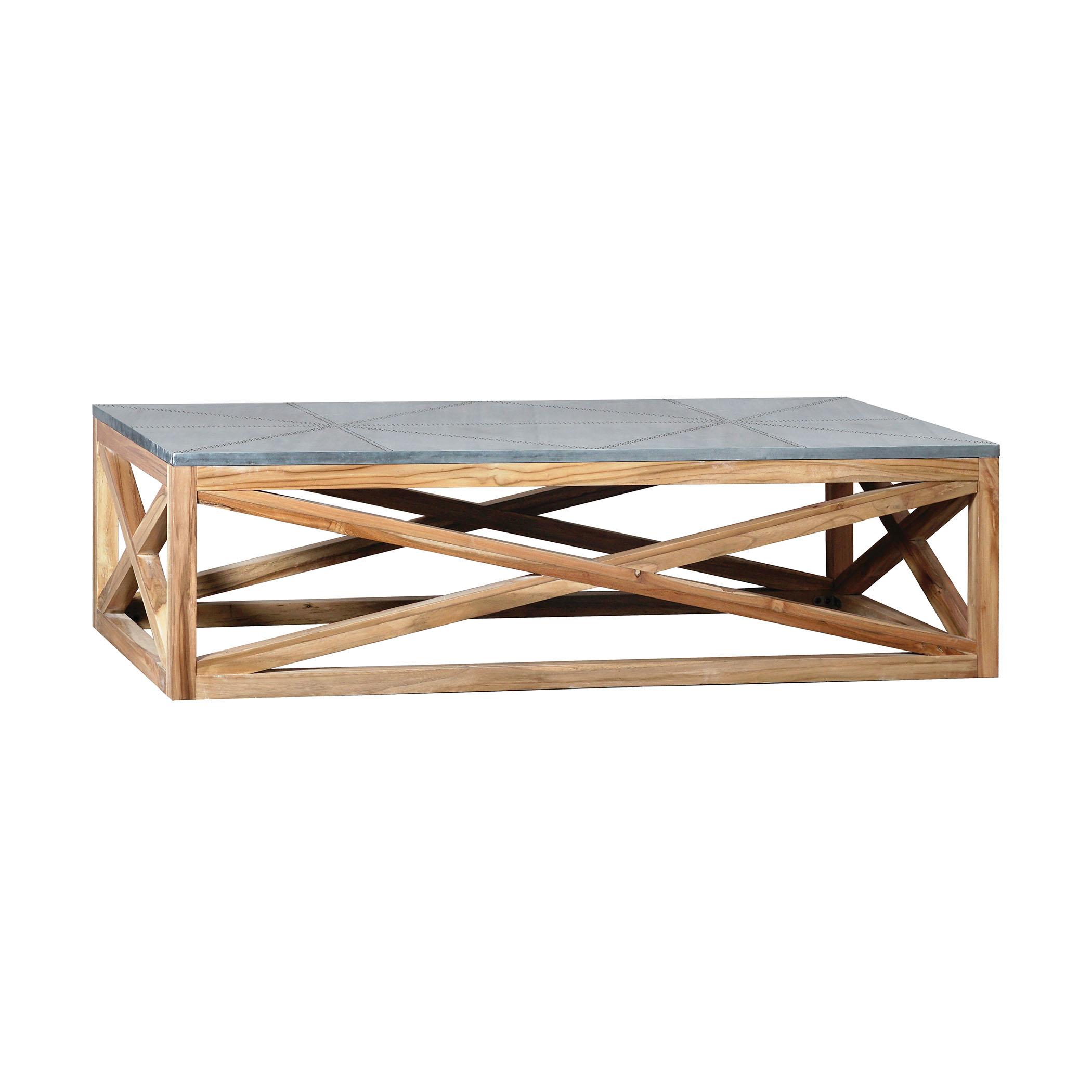Tin Top Nantucket Coffee Table | Elk Home