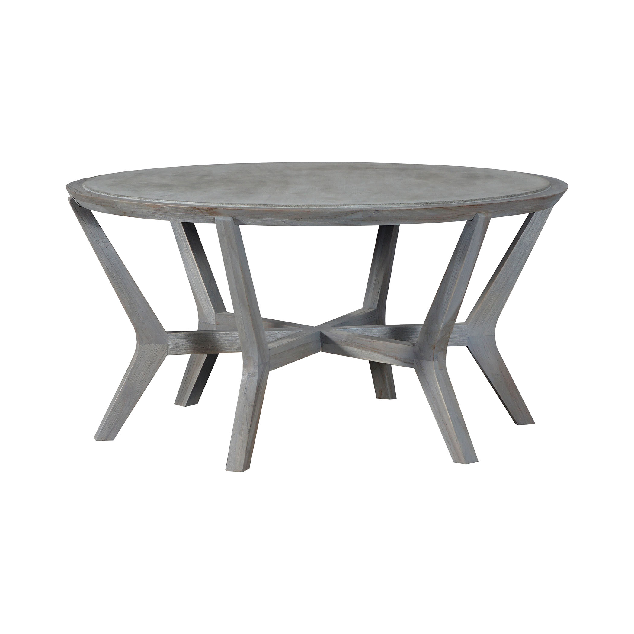 Brazos Cocktail Table in Concrete | Elk Home