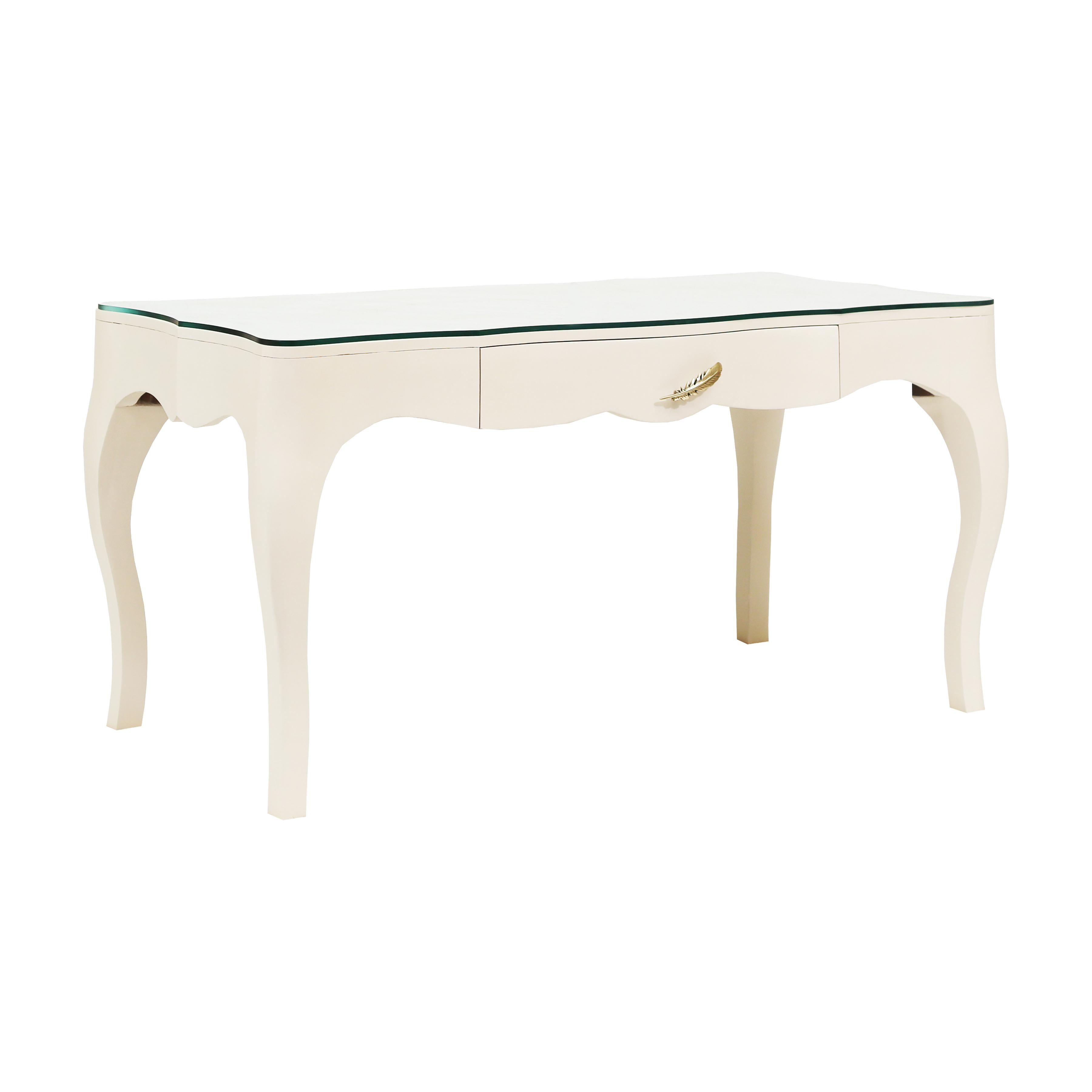 Lightly Glass Top Desk | Elk Home