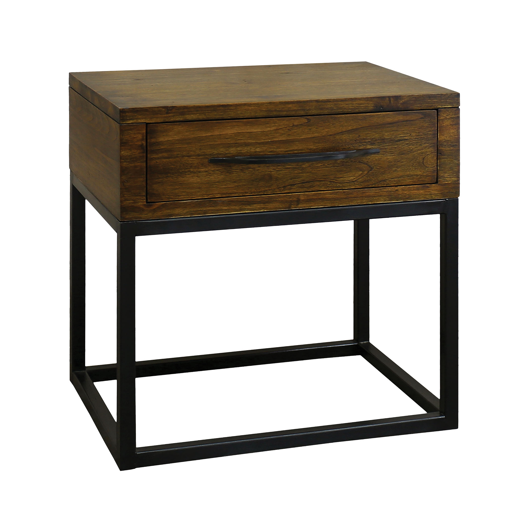 Stanley Accent Table in Wood and Metal | Elk Home