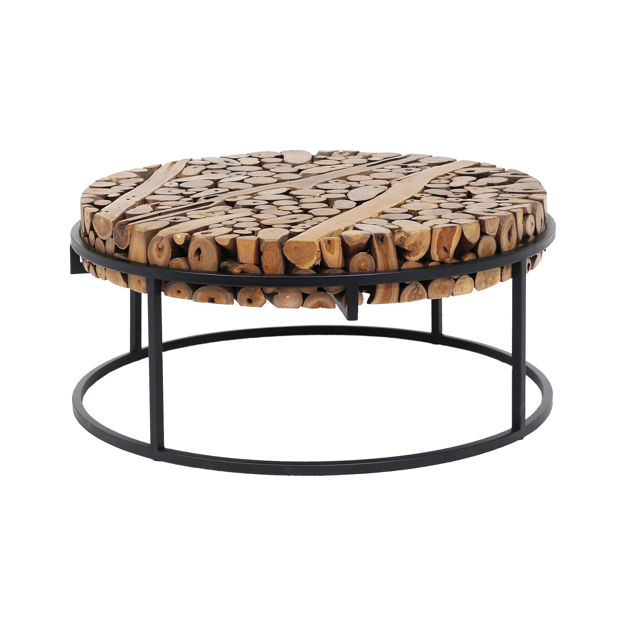 Suar Slice Coffee Table | Elk Home