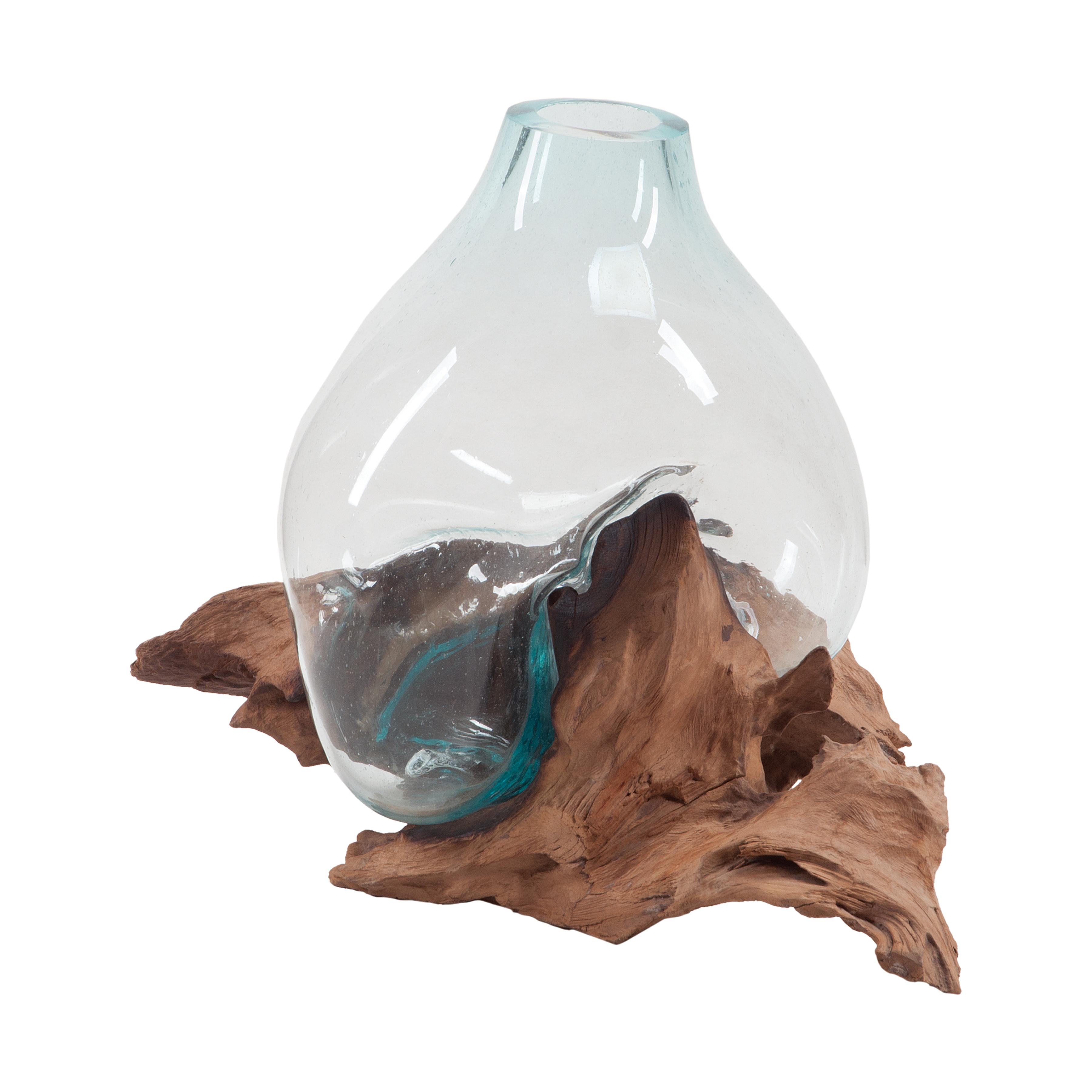 Driftwood Glass Bottle | Elk Home