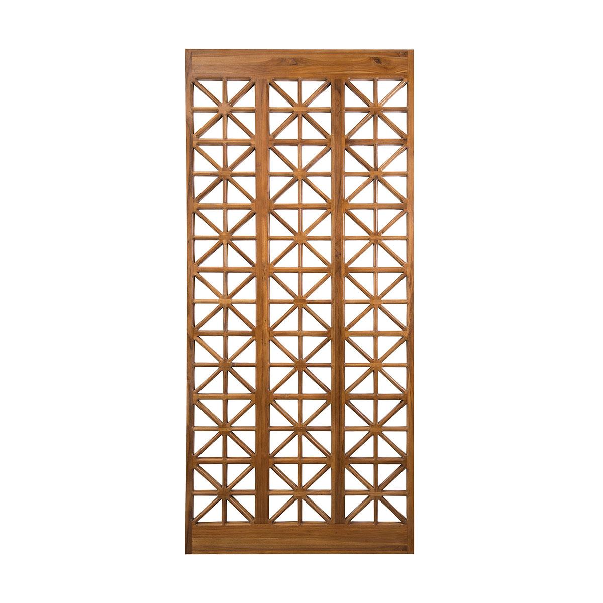 Teak Lattice Floor Screen | Elk Home