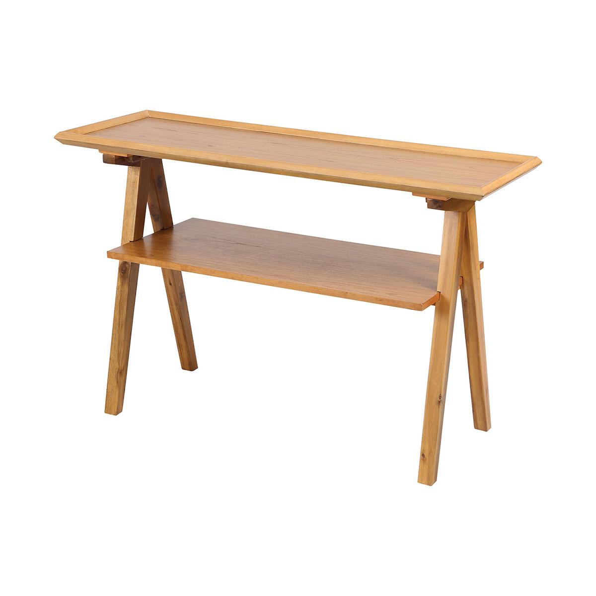 Stein World Barringer Pecan Sofa Table