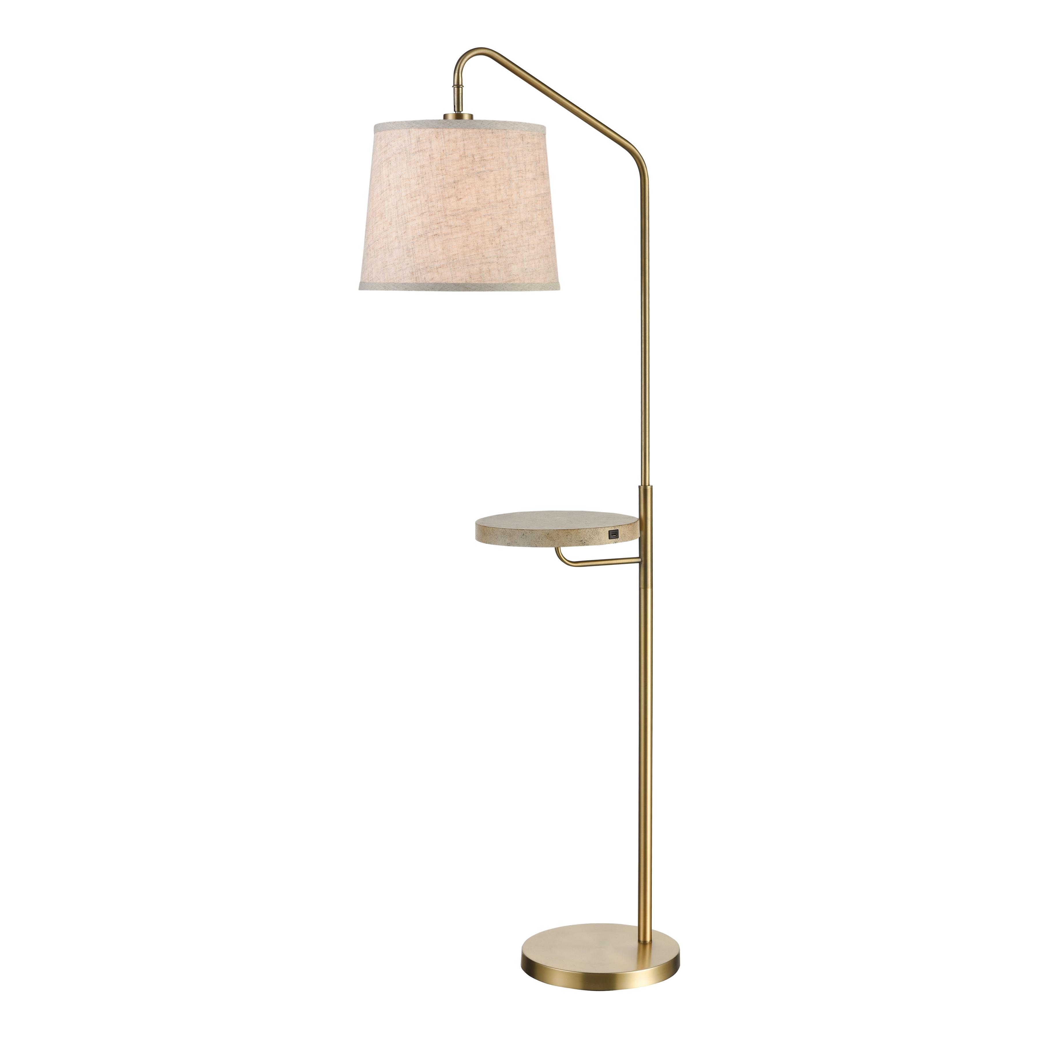 Stein World Regina Floor Lamp/USB Charger