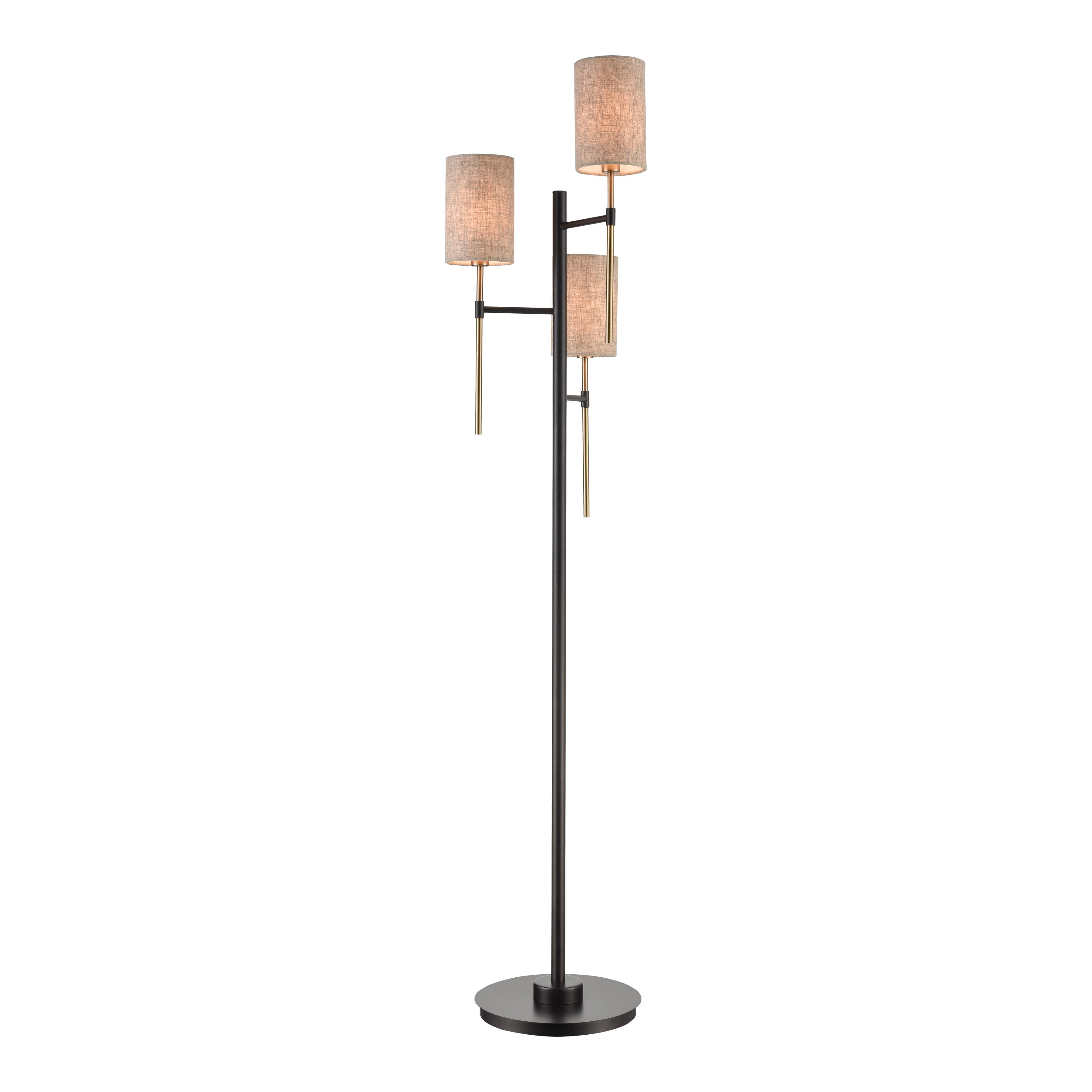 Stein World Trade Wind 3-Light Floor Lamp