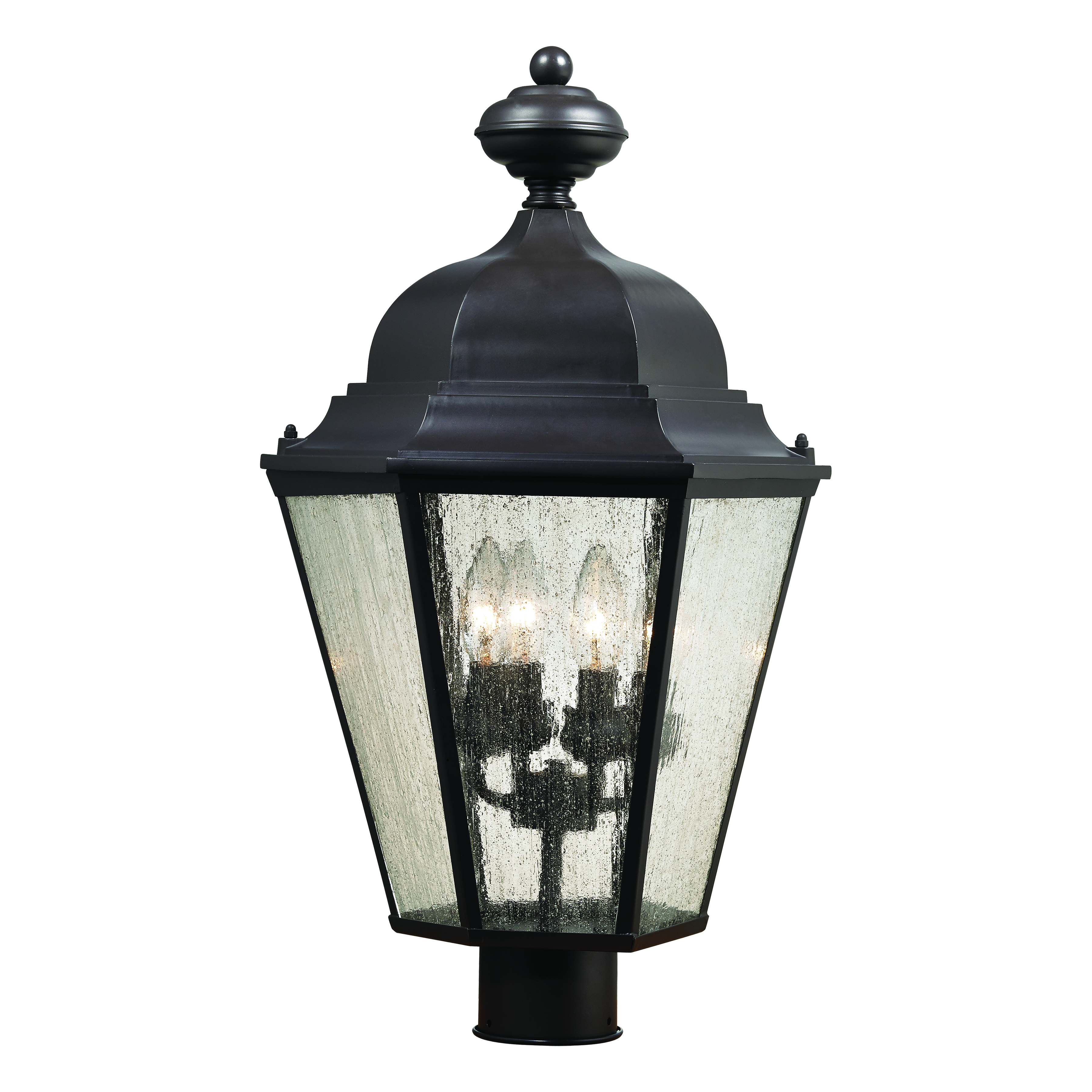 Cotswold 4-Light Post Mount Lantern 8903EP/75 | Thomas Lighting