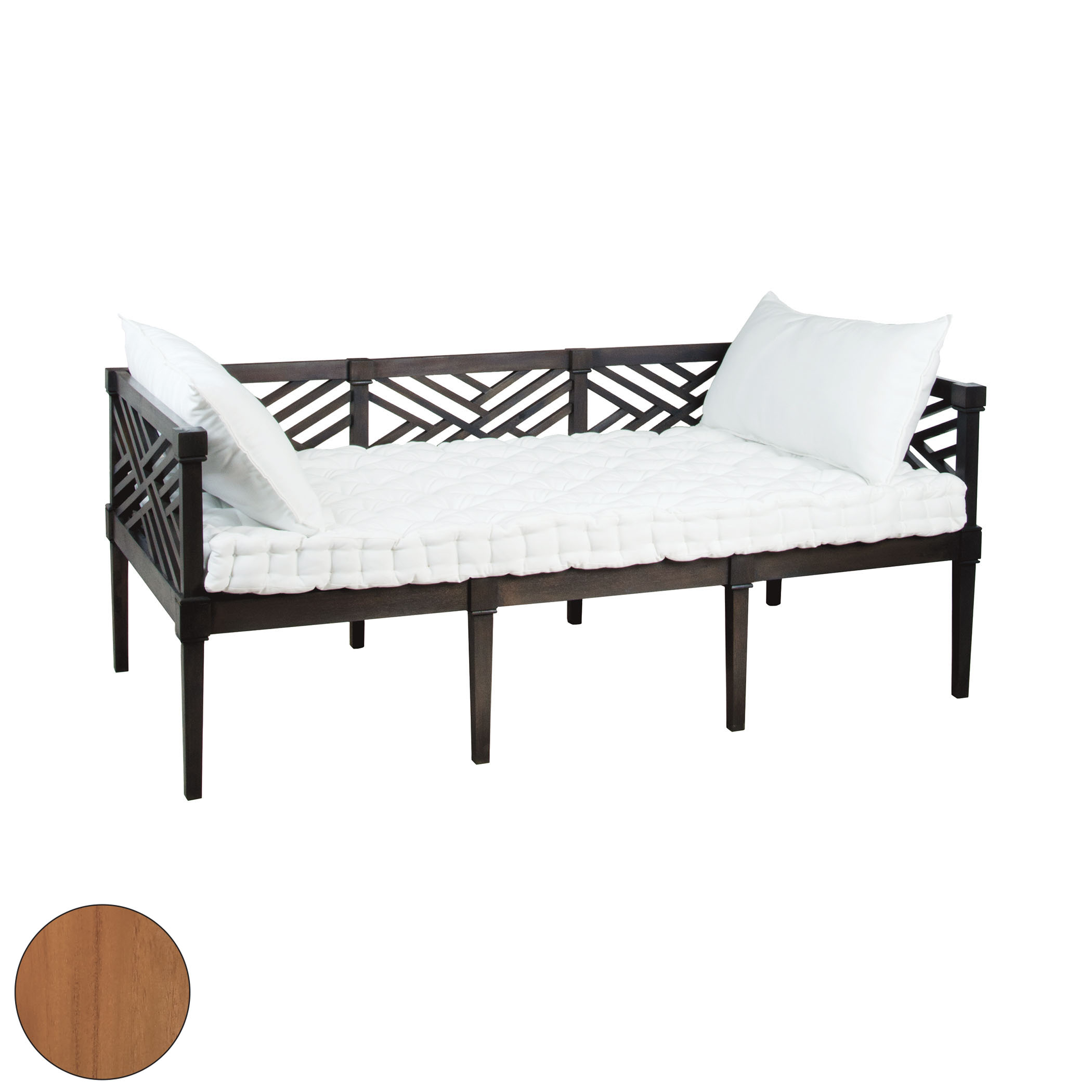 Teak Daybed in Euro Teak Oil | Elk Home