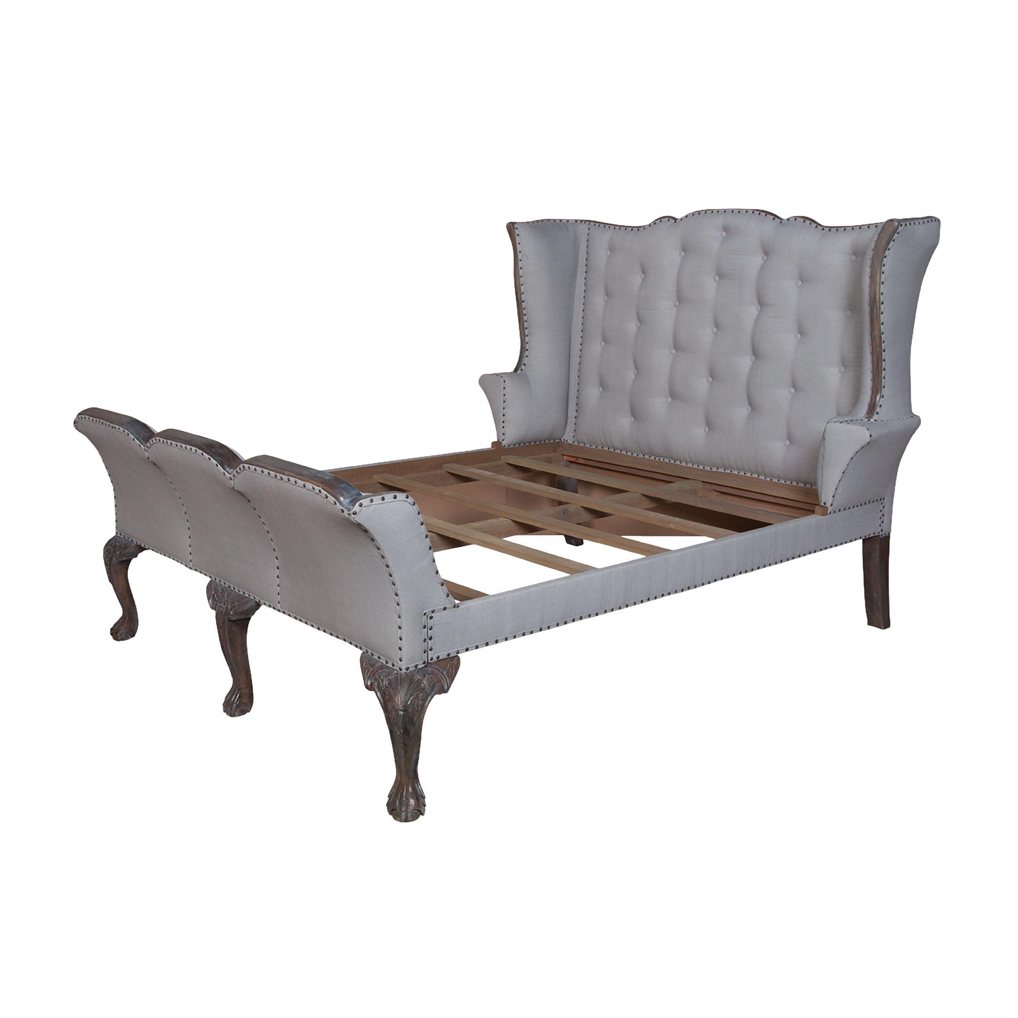 Heritage Sleigh Queen Bed | Elk Home