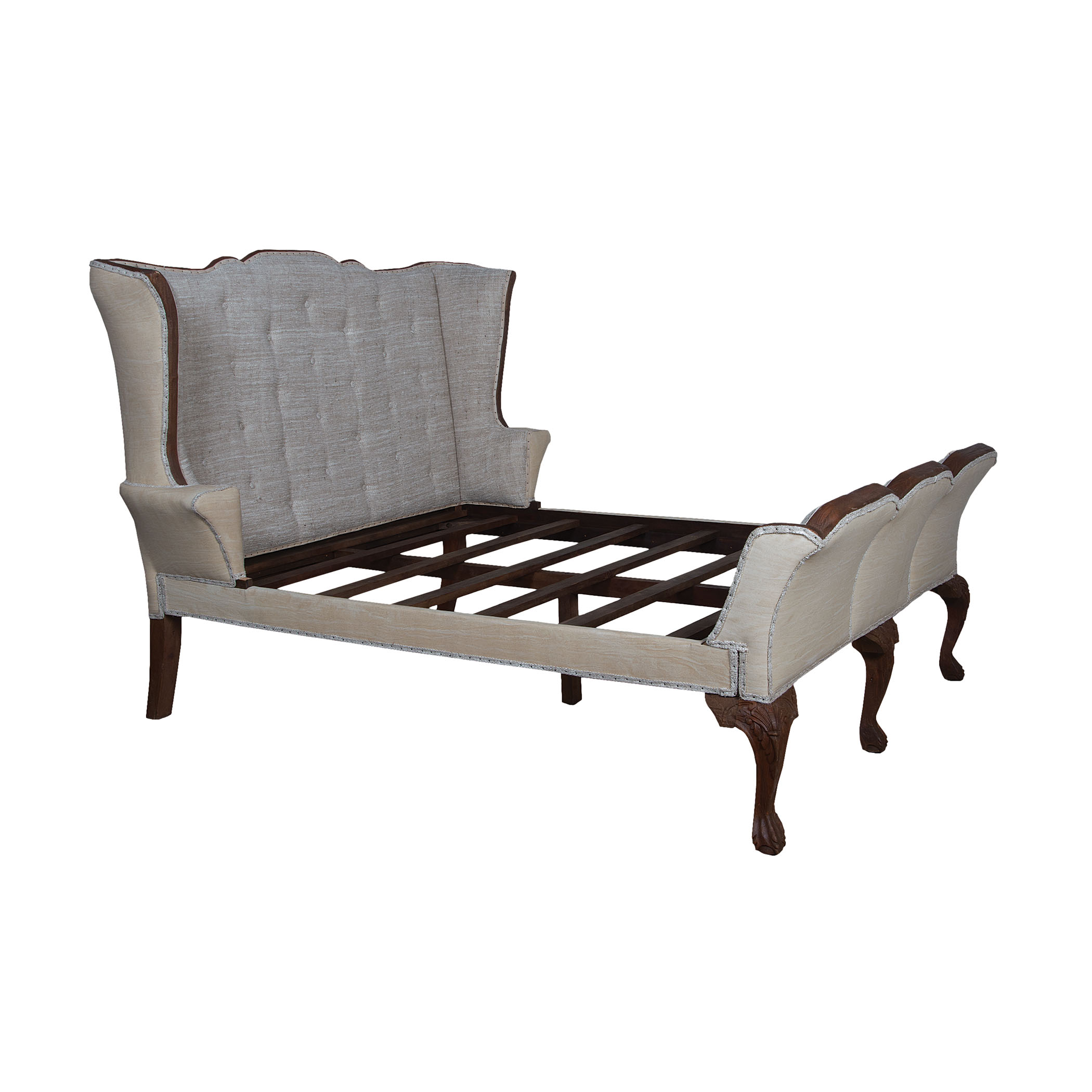 Jefferson King Sleigh Bed | Elk Home