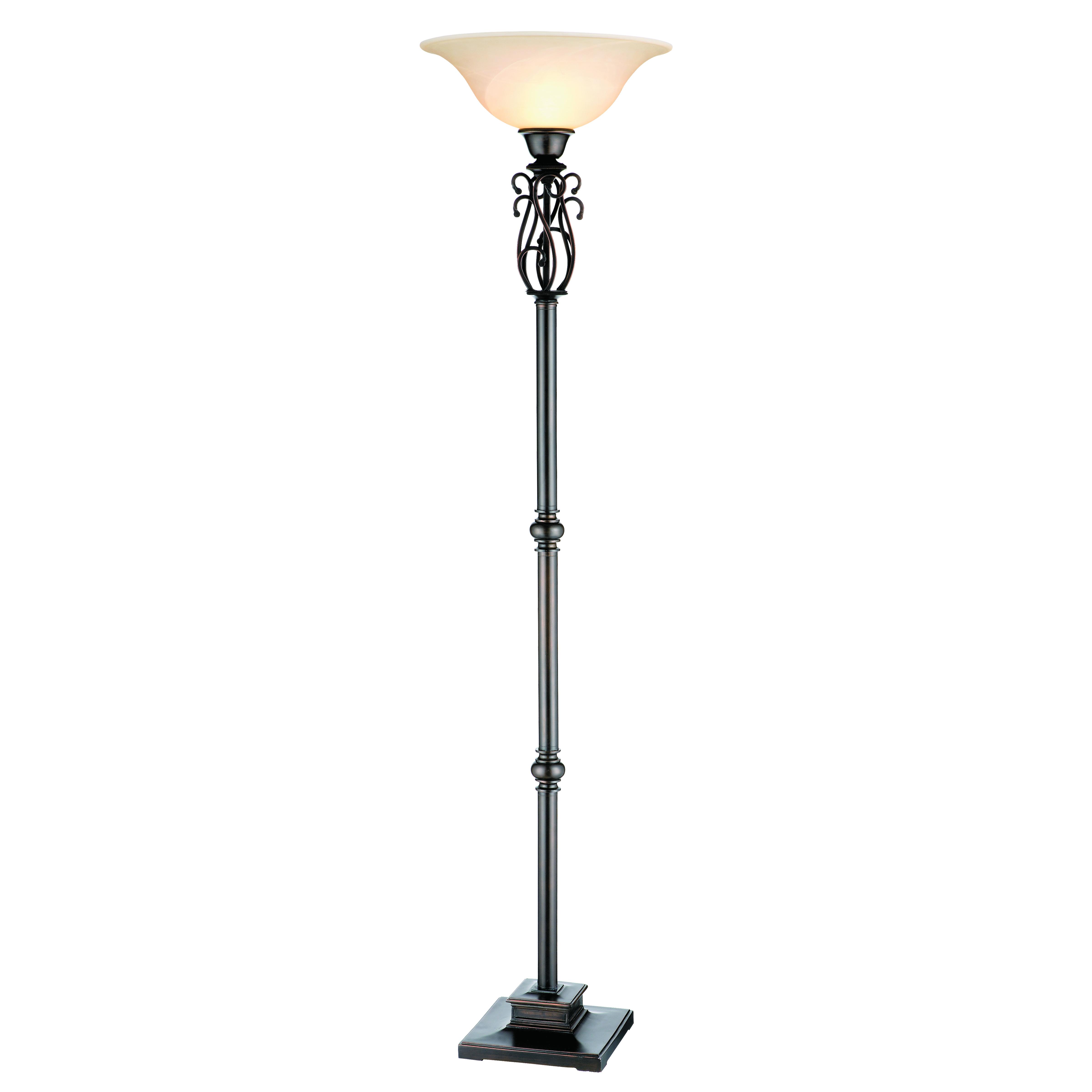 Stein World Suvan Torchiere Floor Lamp