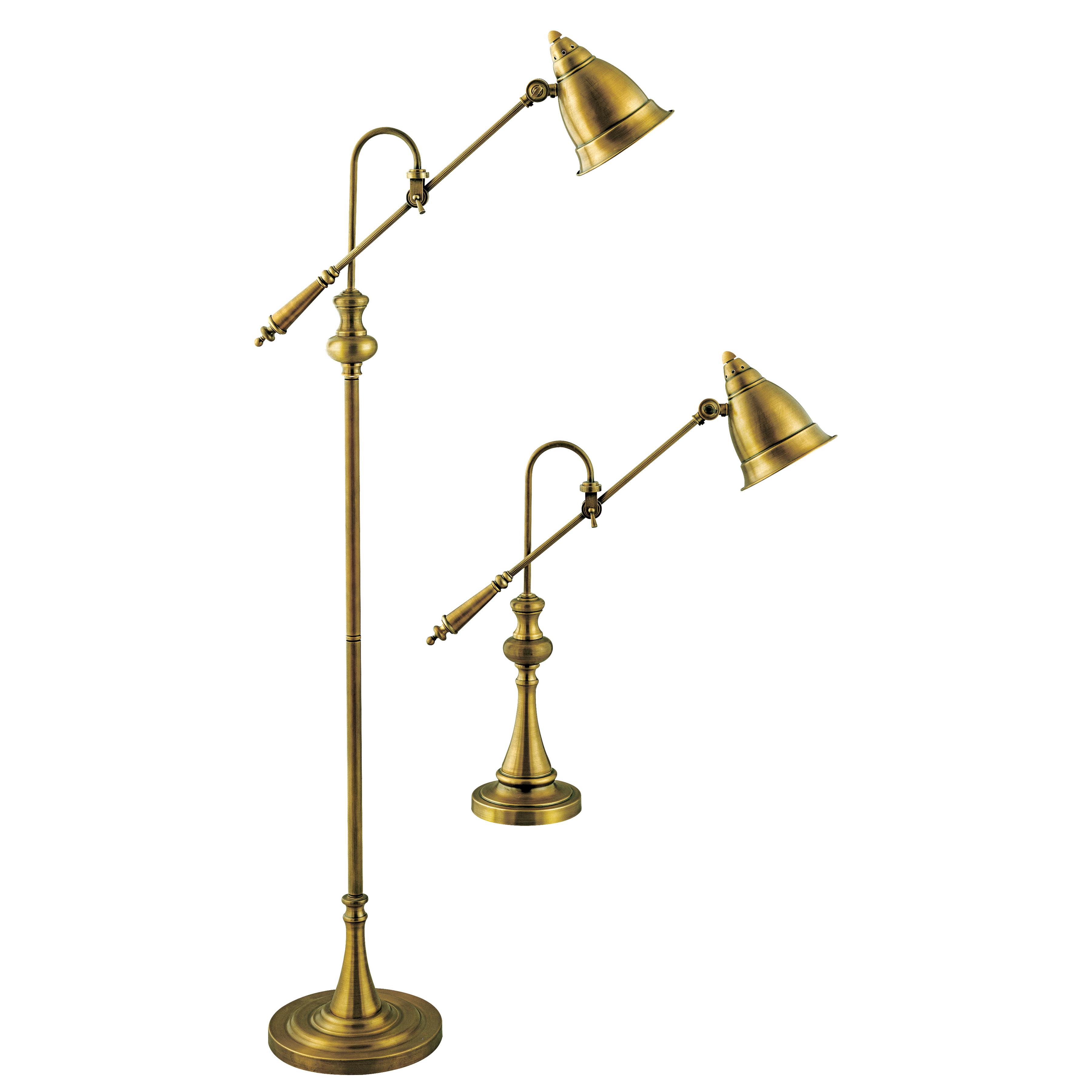 Stein World Watson Adjustable Pharmacy Lamps (1 Floor Lamp/1 Table Lamp)