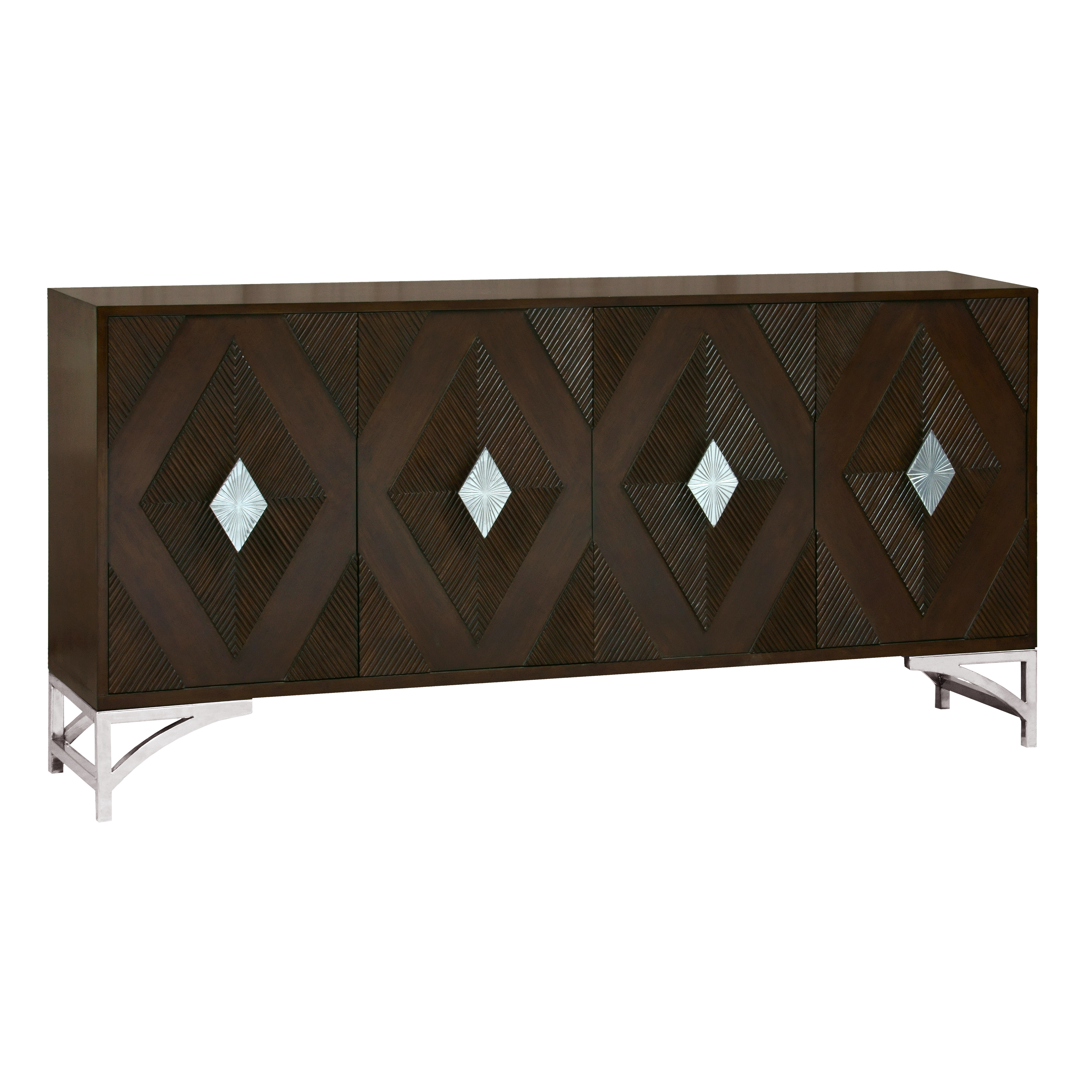 Stein World Hunt 4 Door Credenza
