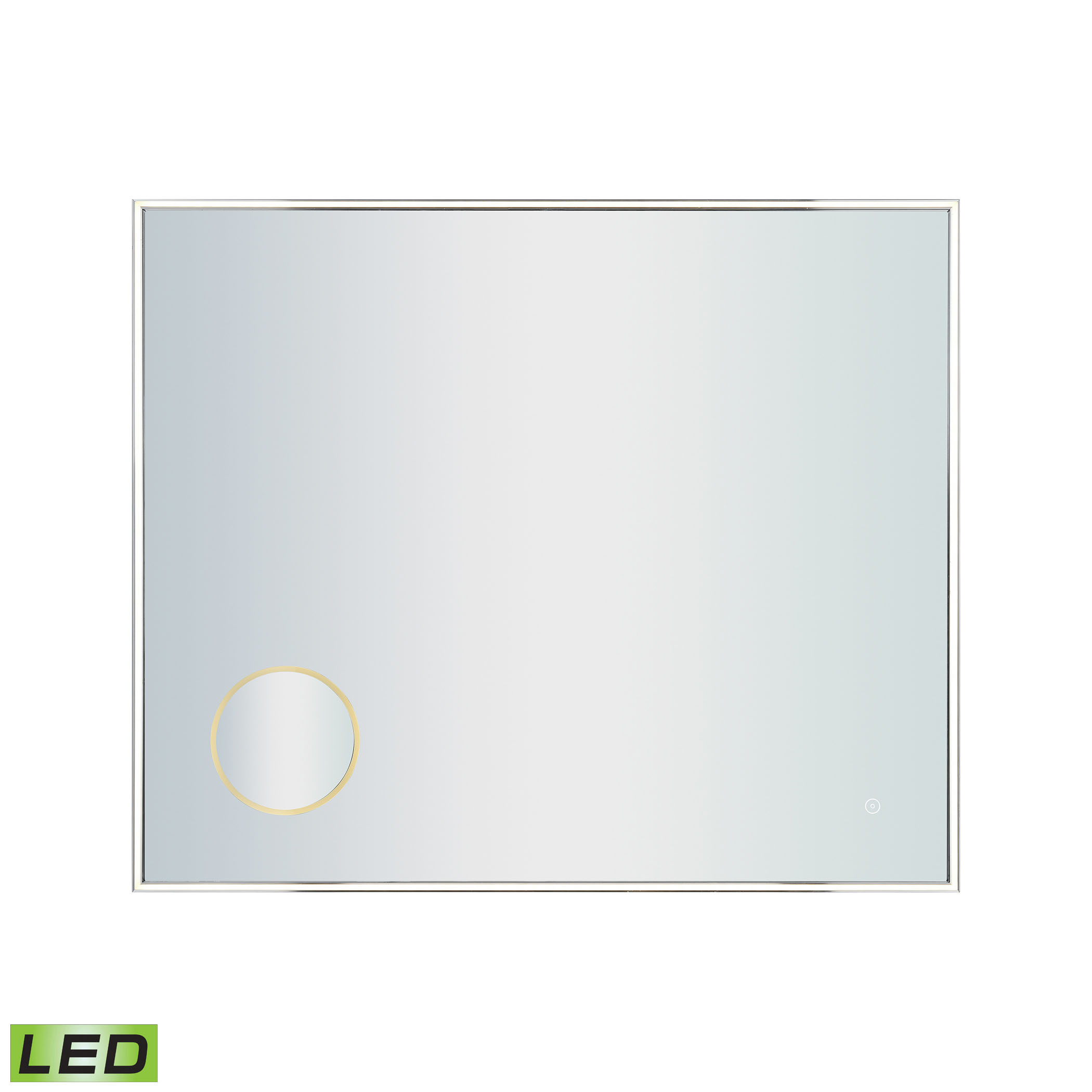 36X30-Inch LED Mirror with 3X Magnifier | Elk Home